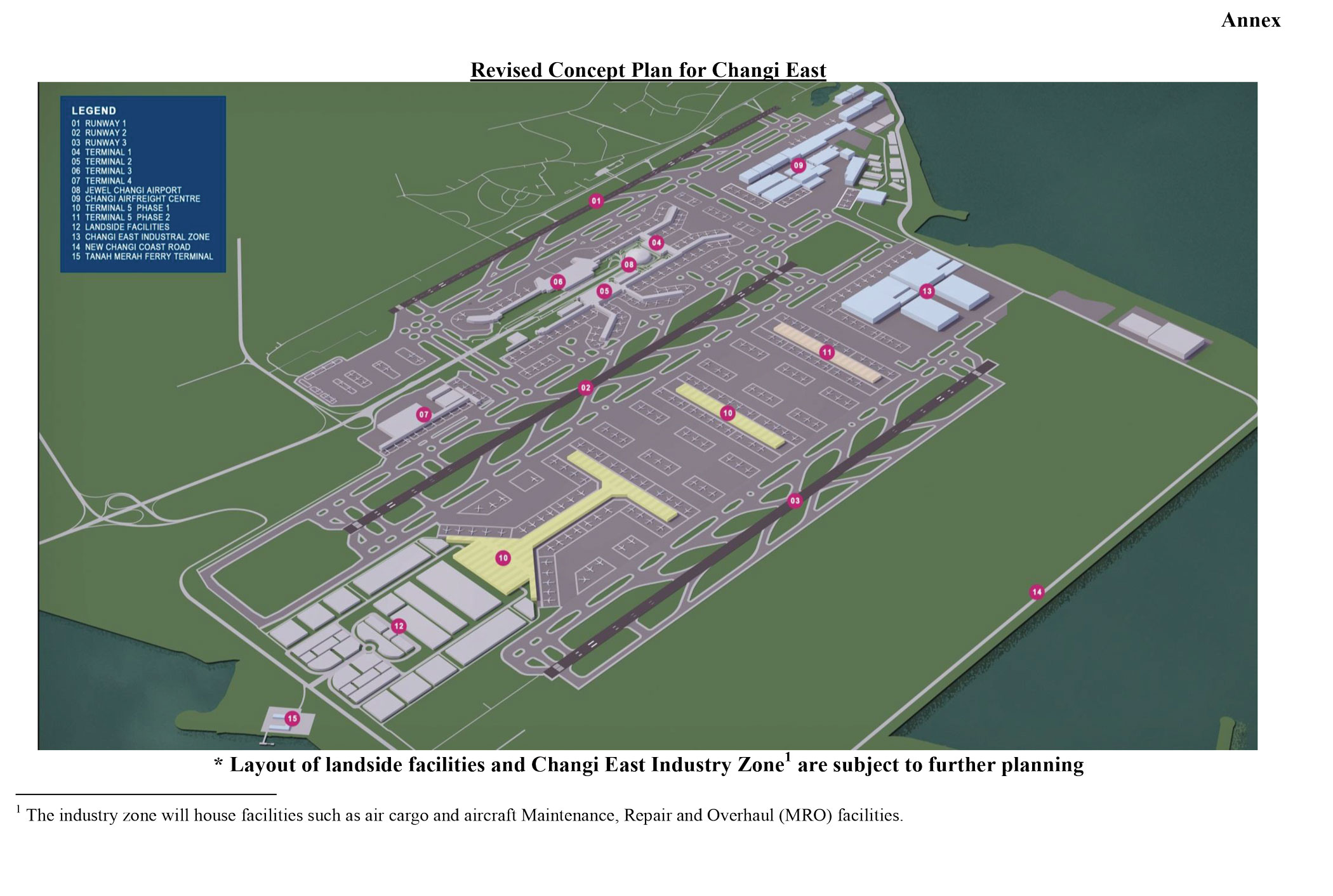 Changi Airport Outlines Expansion Plans Air Transport News Aviation International News