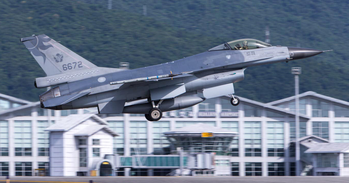 Taiwan's F16 Jet Goes Missing,Grounds All Fighter Jets For Safety Checks