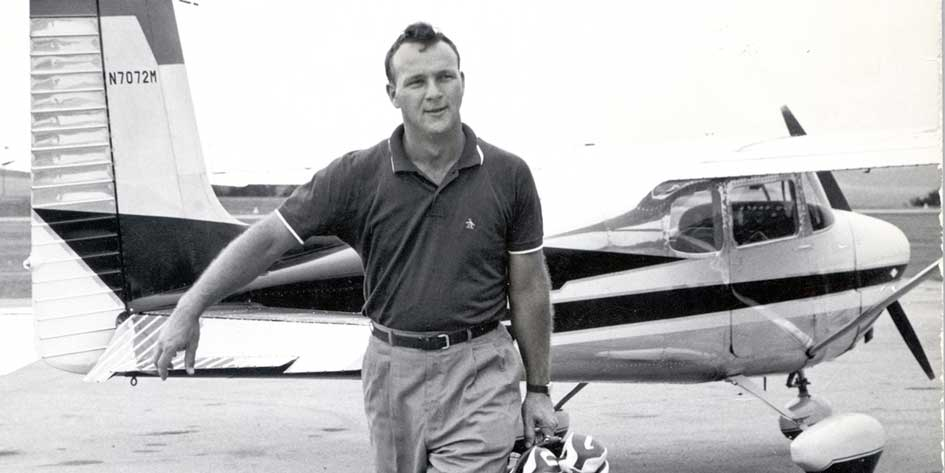 Arnold Palmer Through the Years with His Business Airplanes