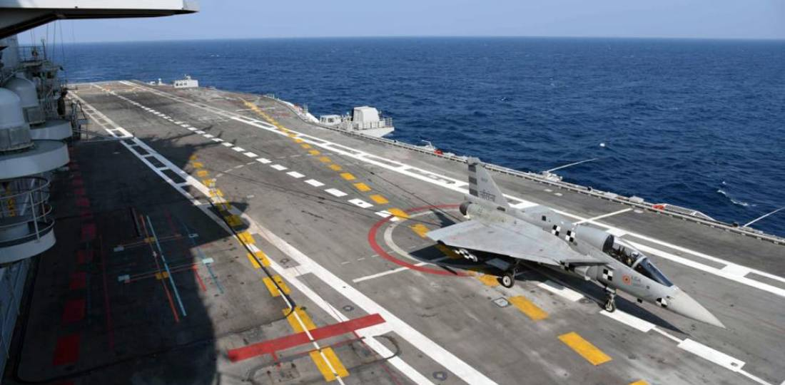 Naval LCA Goes to Sea – Indian Defence Research Wing