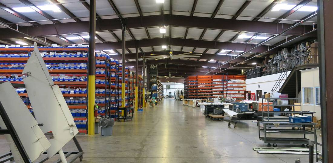 inventory at Alliance Air Parts