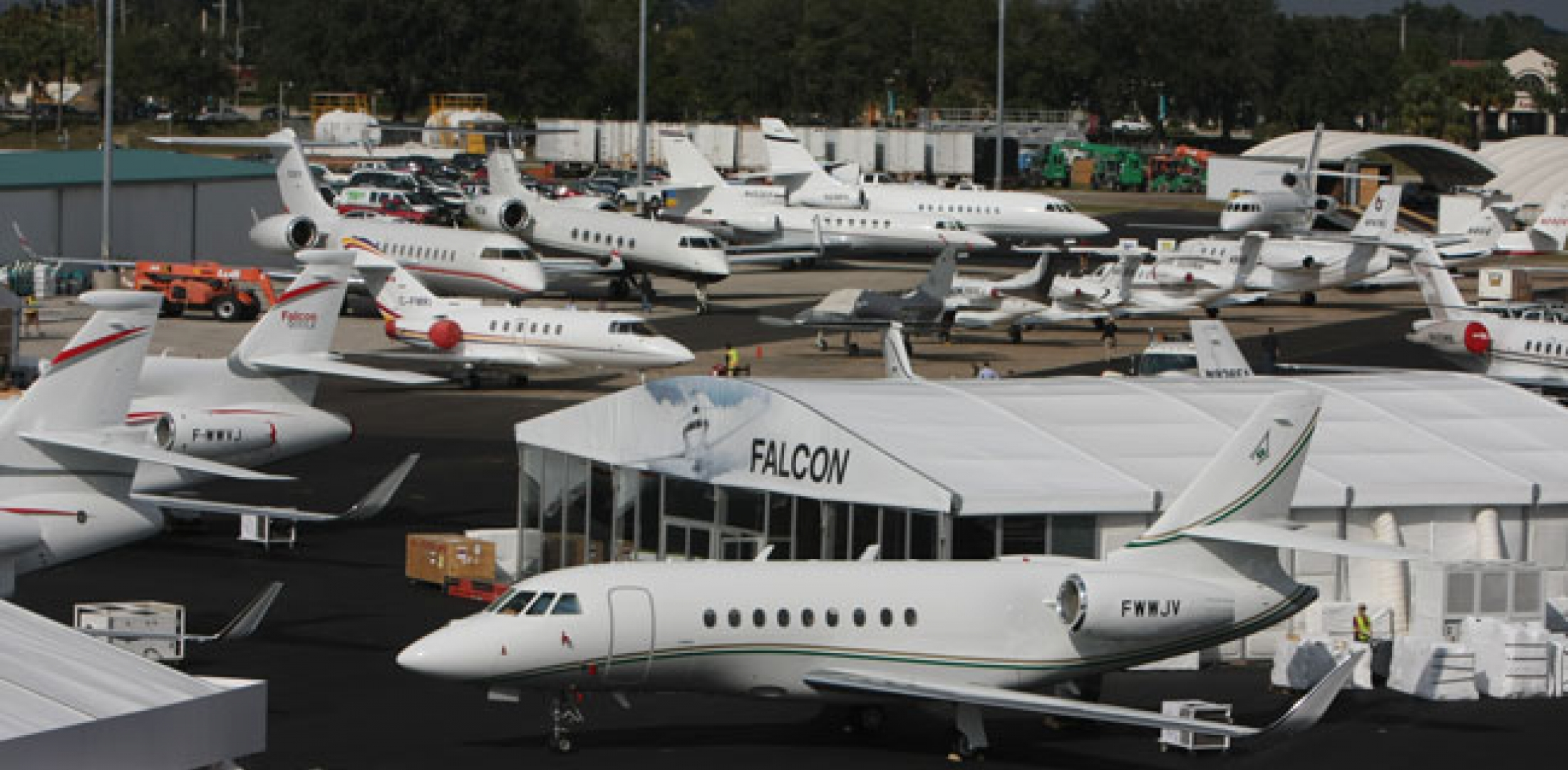 Overview of NBAA static display area
