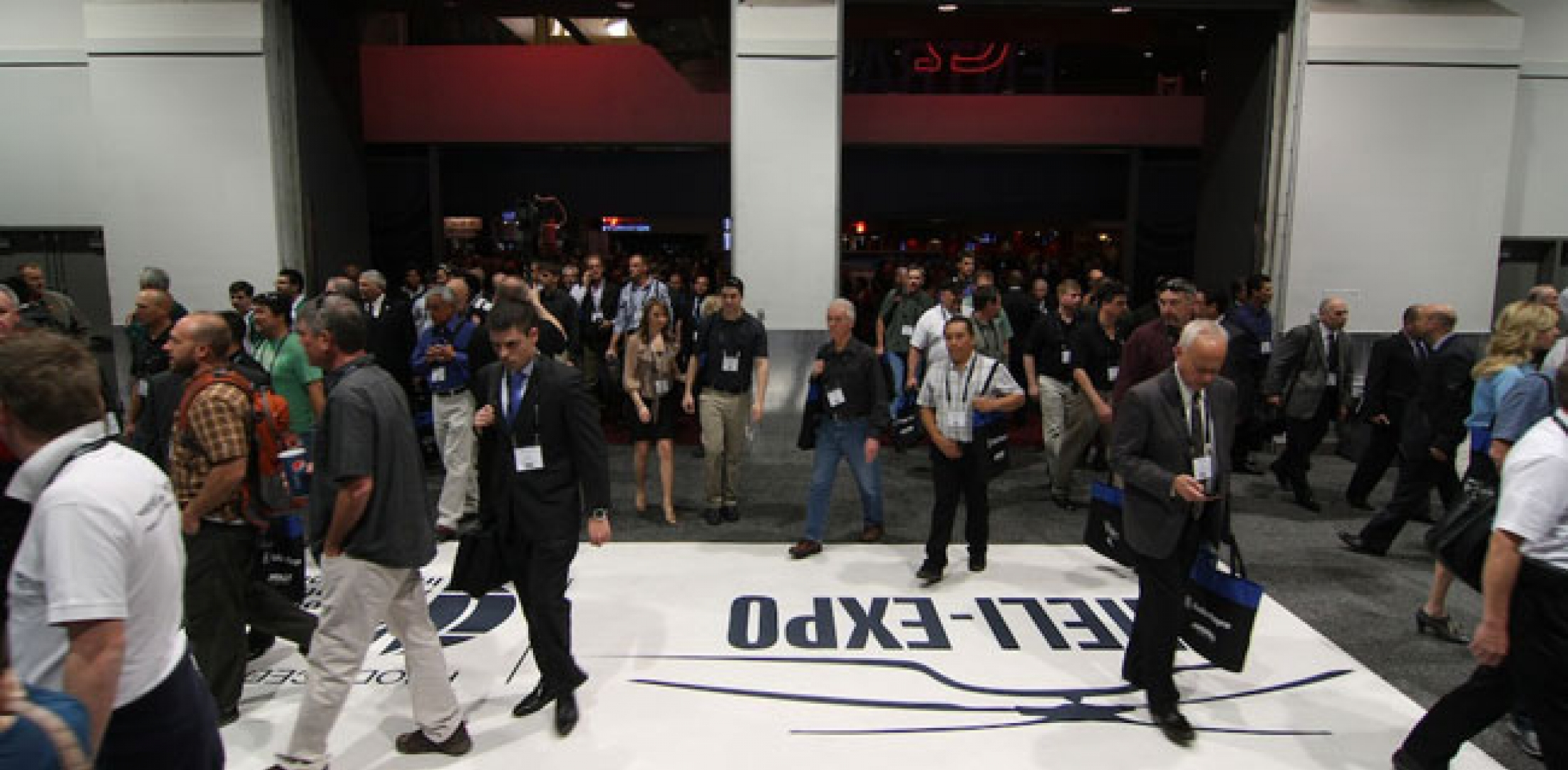 Attendees at Heli-Expo