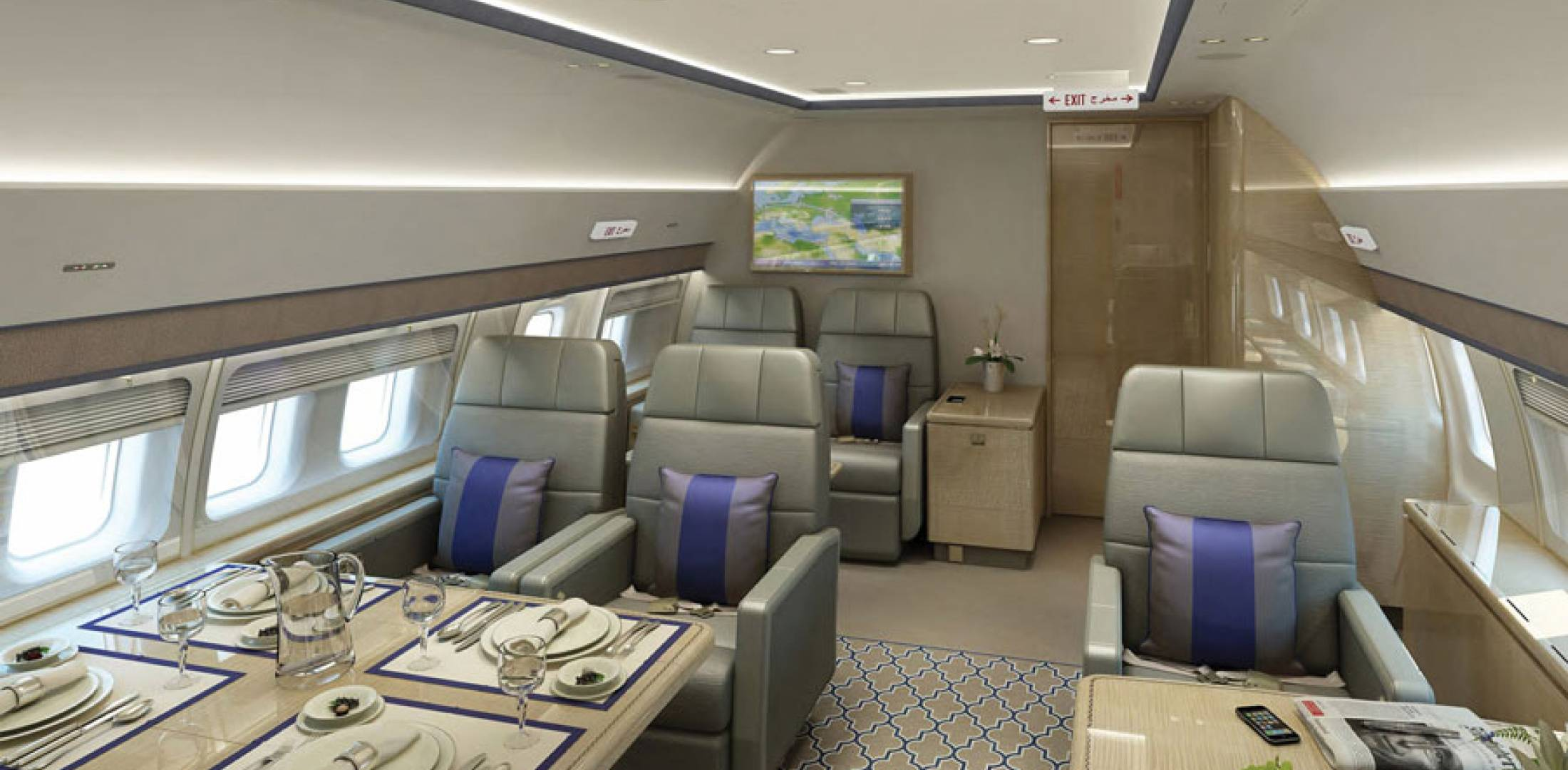 Private Jet With Bedroom Bbj Brings Bbj3 To Ebace Sees Sales Opportunities For Bbj