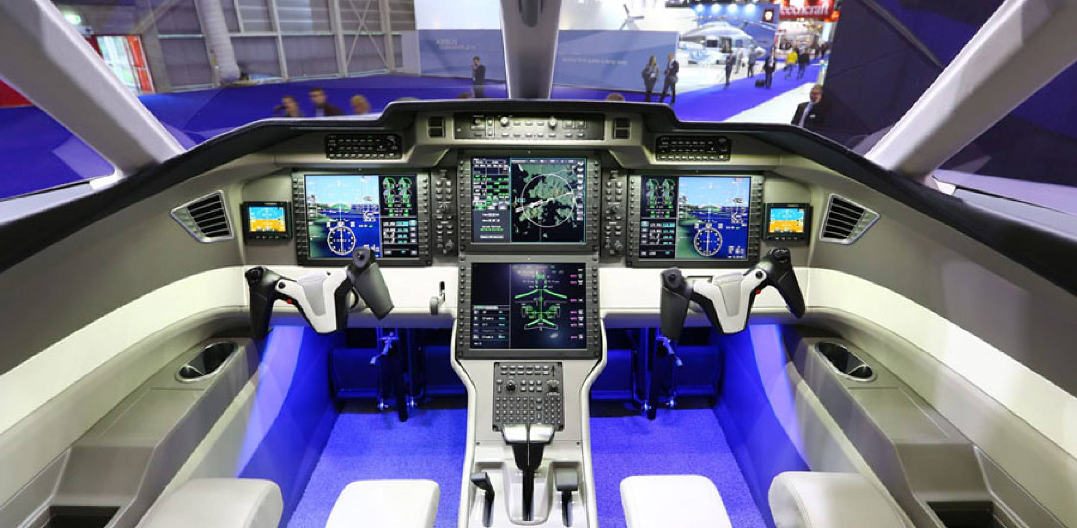 Pilots will be treated to an impressive cockpit, featuring avionics based on Honeywell's Primus Apex flight deck, but branded as the Pilatus Advanced ...
