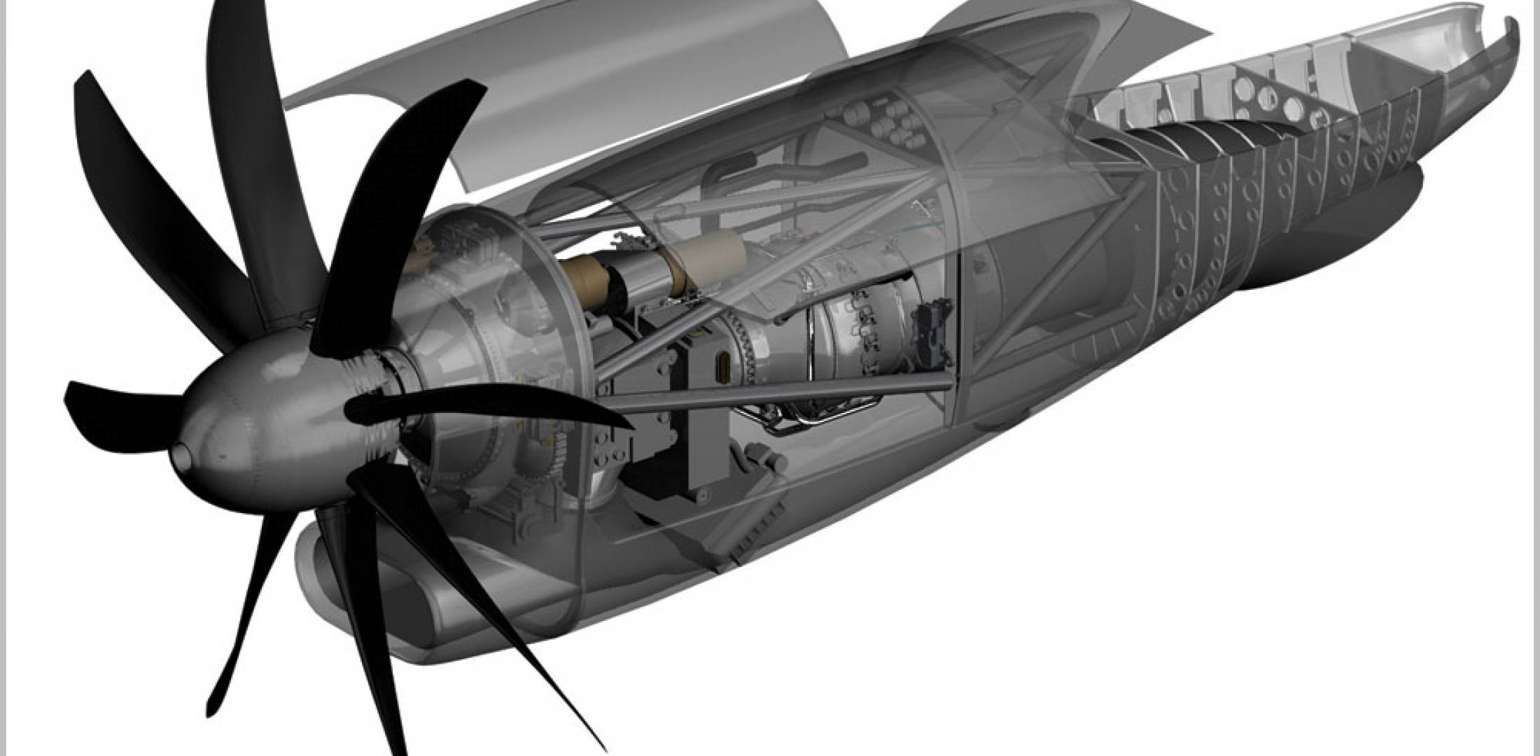 The NGRT features an eight-blade propeller, a new compressor and a Talon combustor borrowed from larger Pratt & Whitney models.