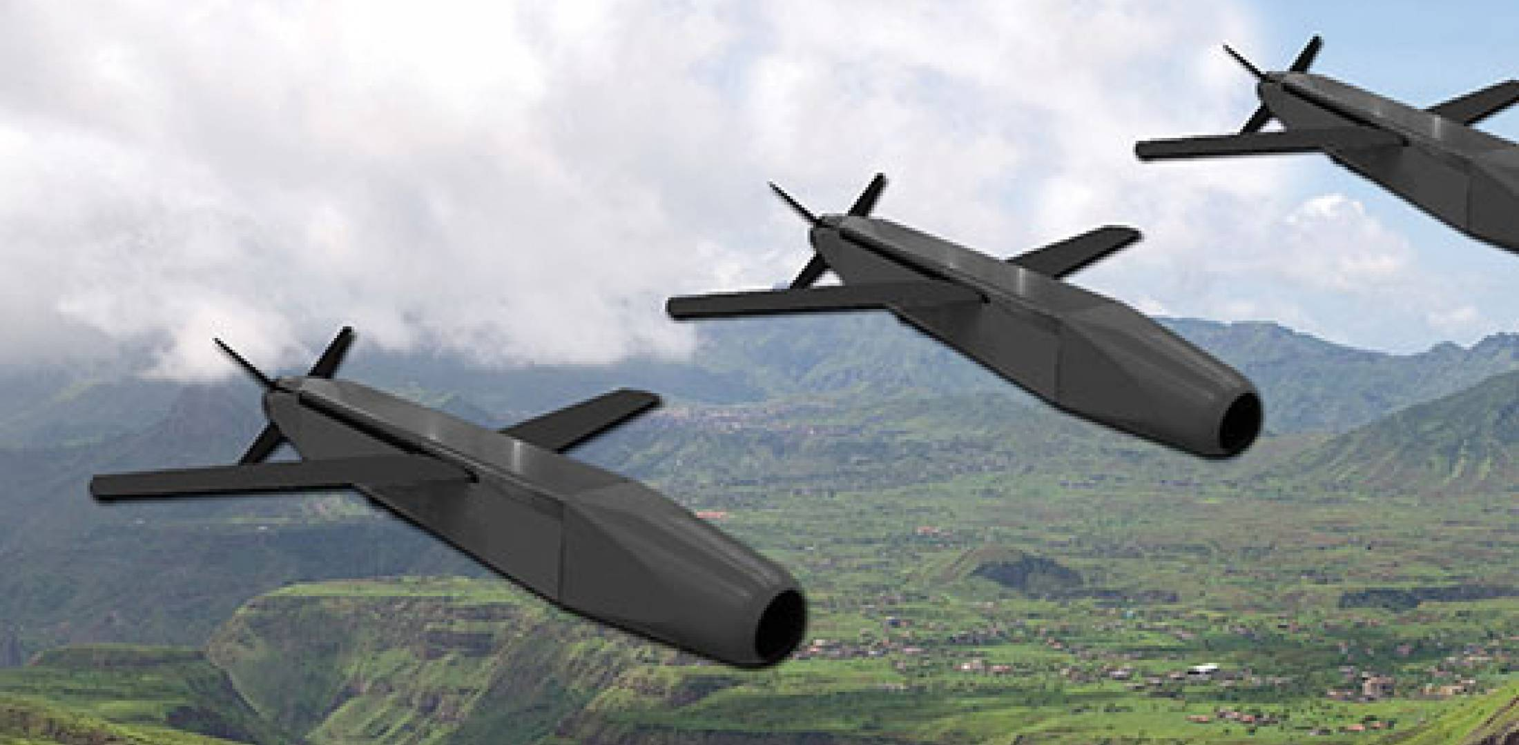 Pop-out wings give the Spice 250 a precision-guided glide bomb 100-kilometer range when launched from altitude. Simultaneous attacks can be made against multiple targets.