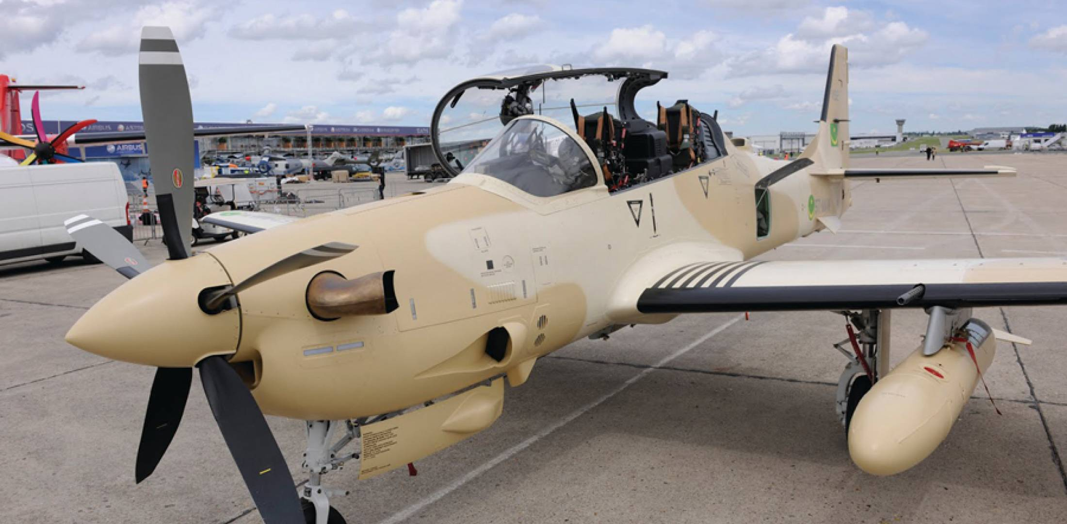 Super Tucano Makes First Paris Appearance News Aviation