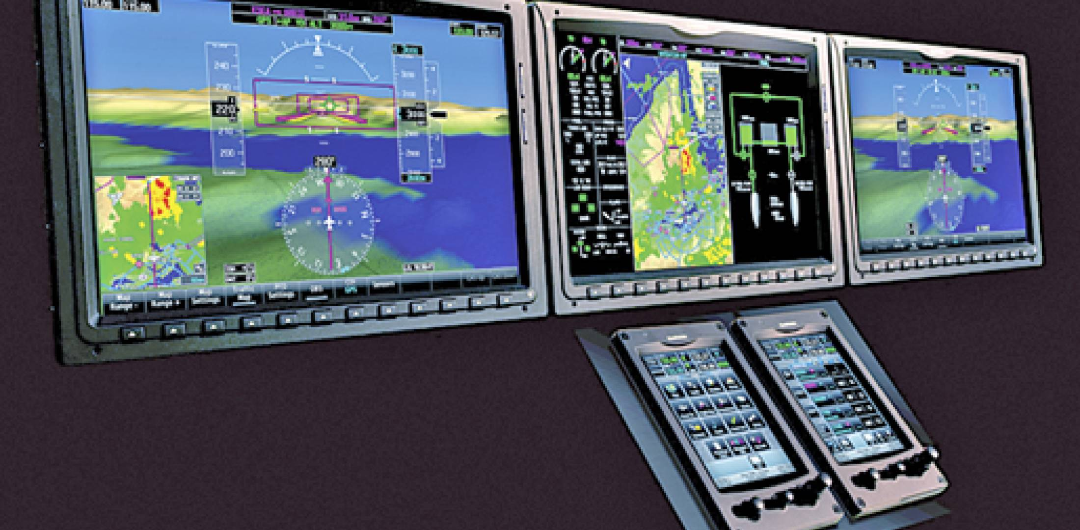 With G3000 Garmin Brings Touchscreens To Flight Deck Business Drive 51 Gps Mobil Touchscreen Caused The Biggest Stir At Last Months Nbaa Convention By Unveiling Integrated Avionics System A Follow On G1000 Cockpit That Will
