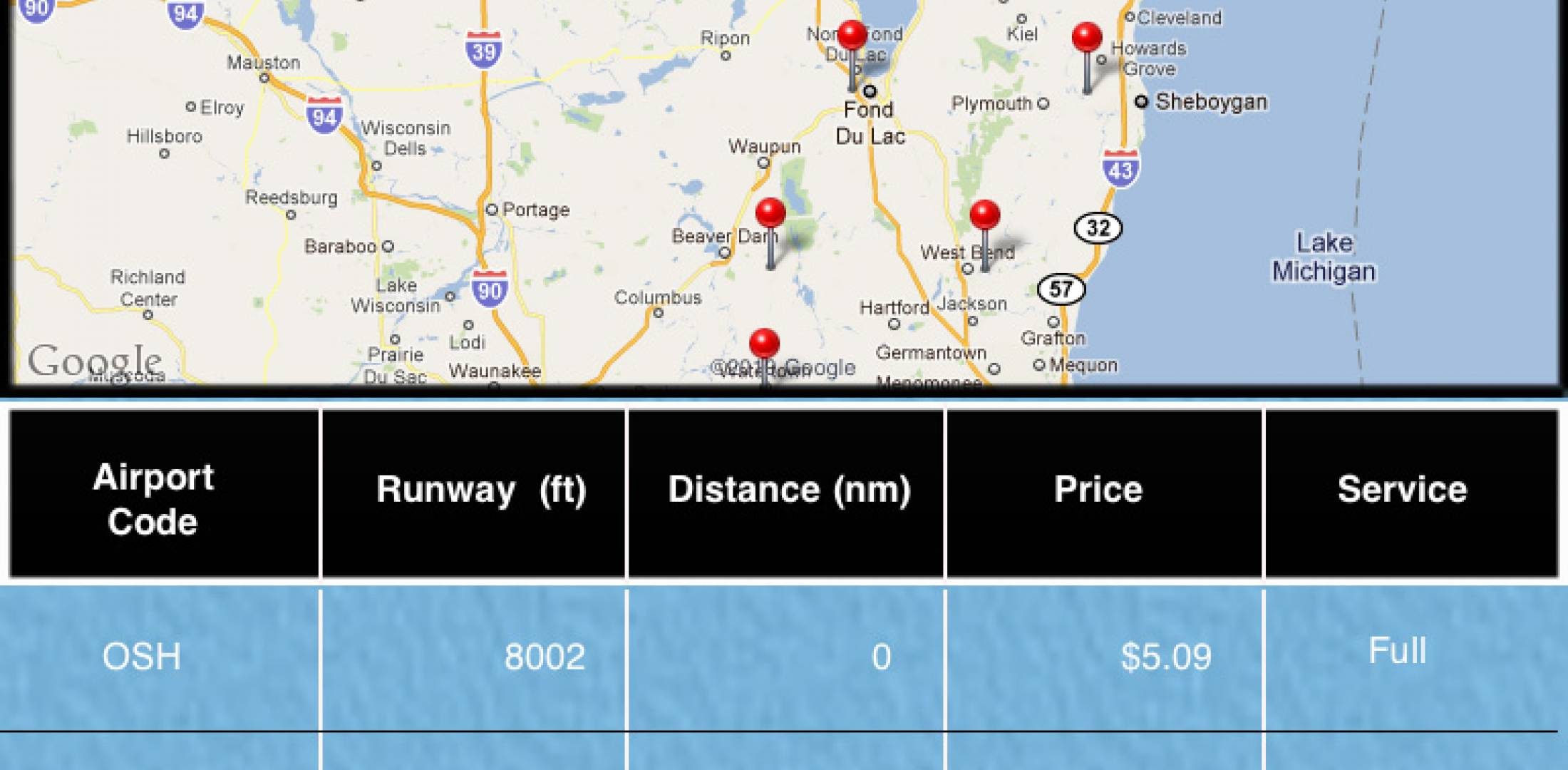 Oshkosh 2011: Easy Fuel-price App Coming From GlobalAir com