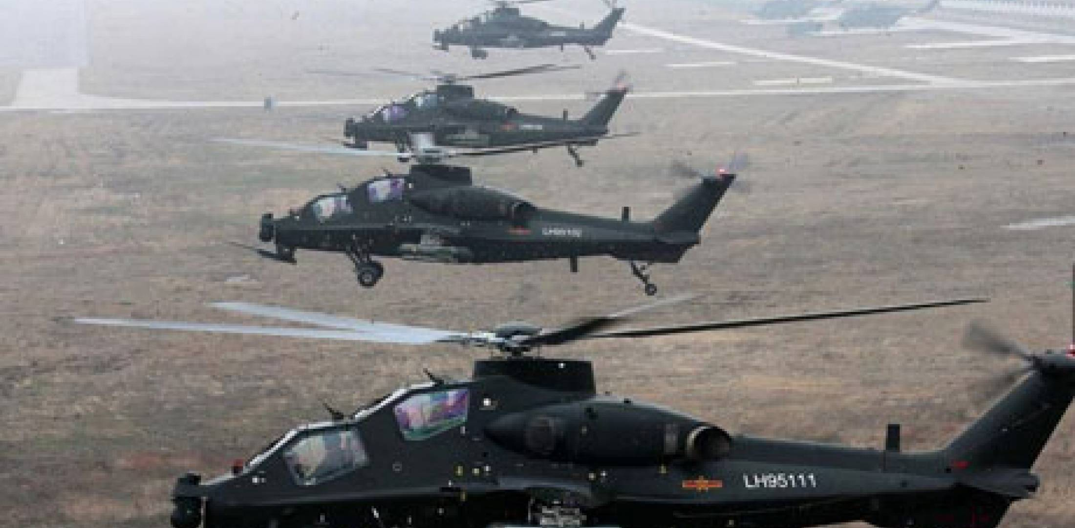 HQ Images of Chinese WZ-10 Gunship helicopters   Chinese