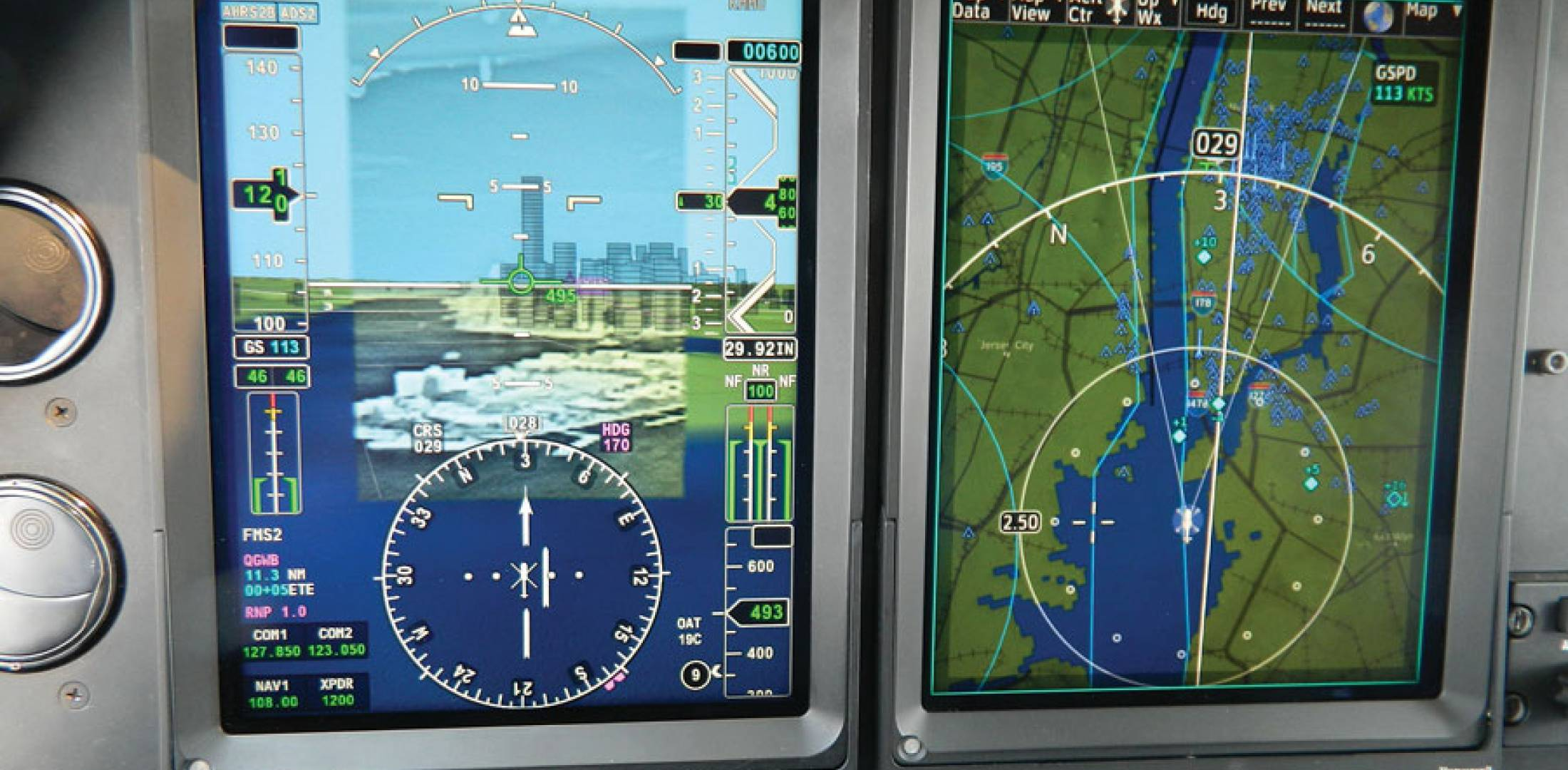 Synthetic Vision With Infrared Becomes Helicopter S