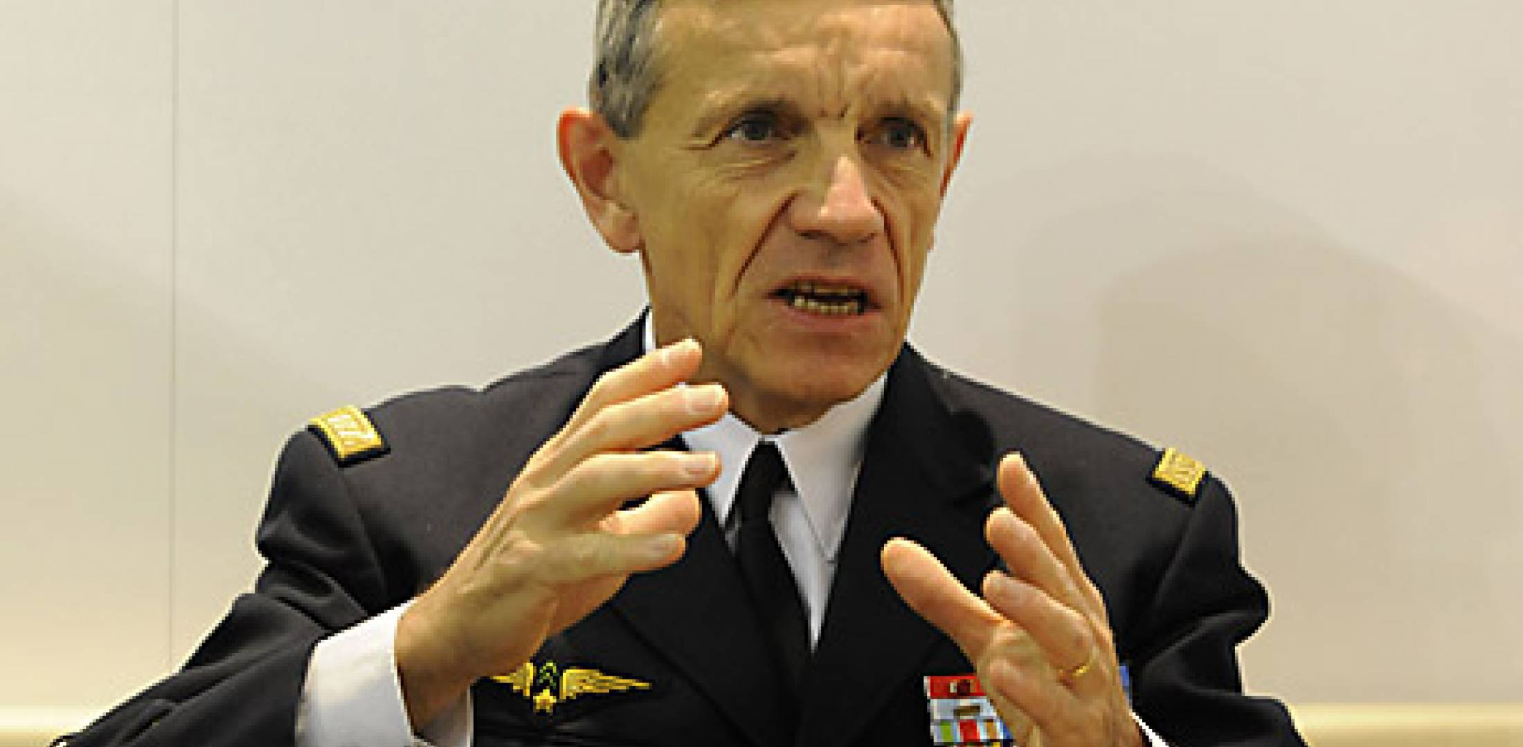 French air force commander Jean-Paul Palomeros