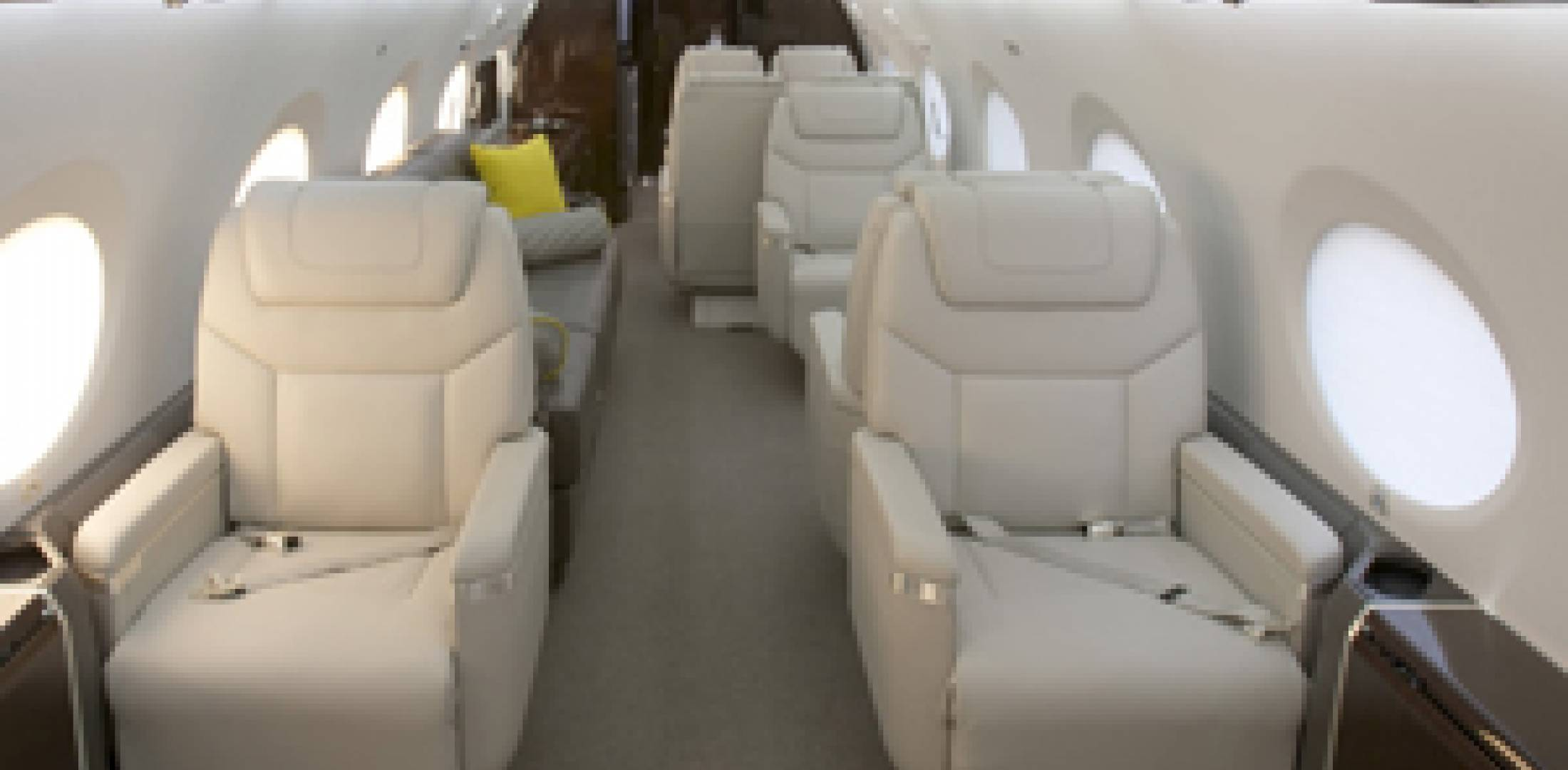 Gulfstream Aerospace Unveiled Its New U201cEliteu201d Interiors For The G550 And  G450 At The NBAA Convention This Week In Las Vegas.
