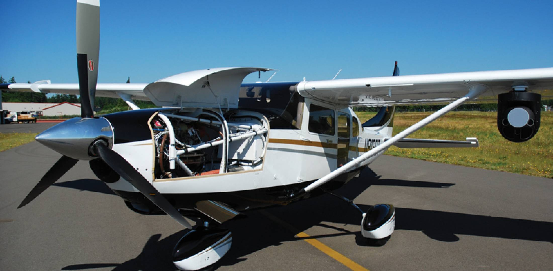 Soloy 206 a Quieter, Cheaper Helicopter Alternative