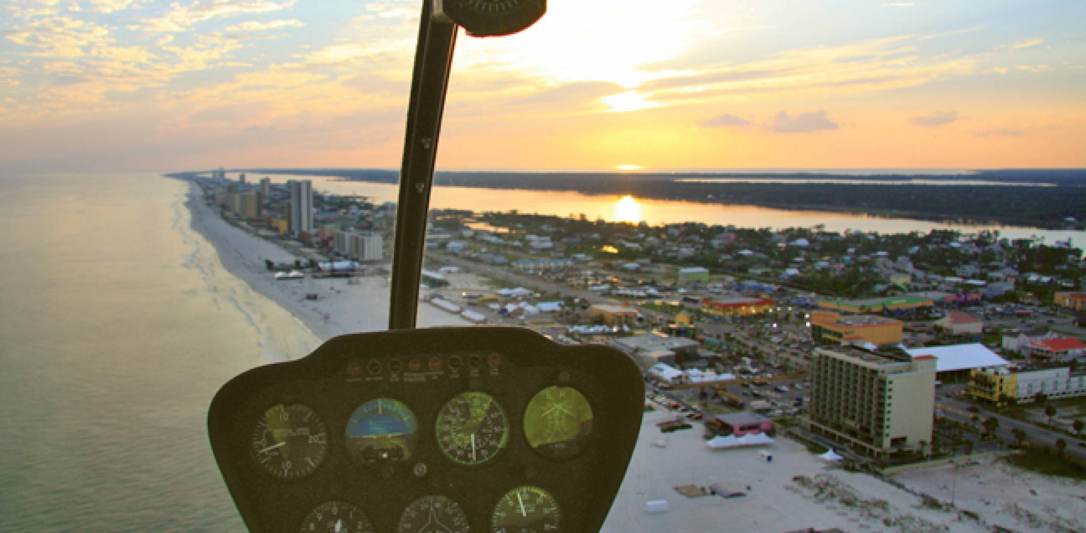 Georgia-based Oasis Aviation flies an R44 from Orange Beach, Ala., on sightseeing flights over the Gulf Coast. Public-sector flights fill the remaining slots.