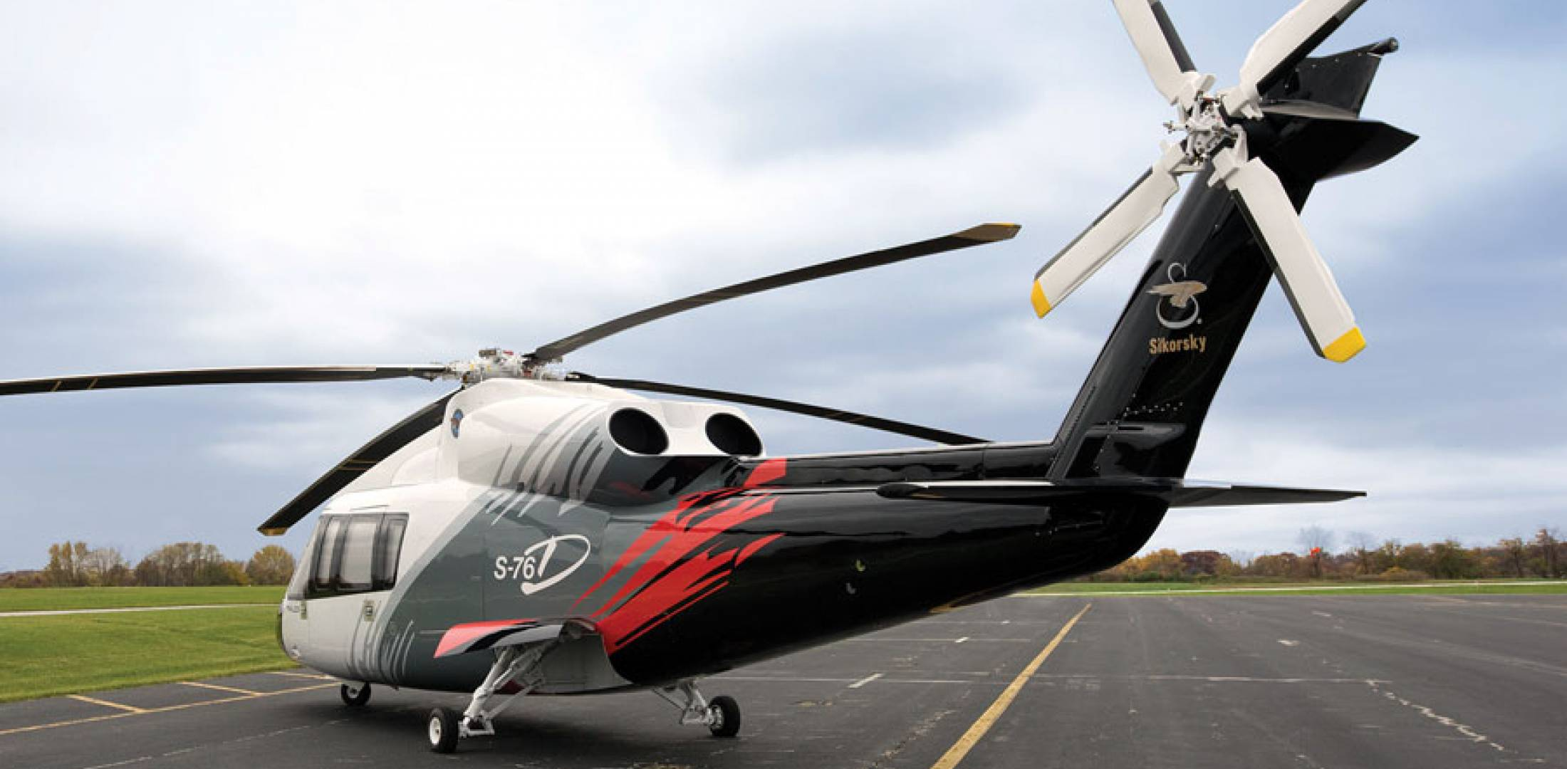 Helitech 2013: Sikorsky S-76D First Delivery Pending