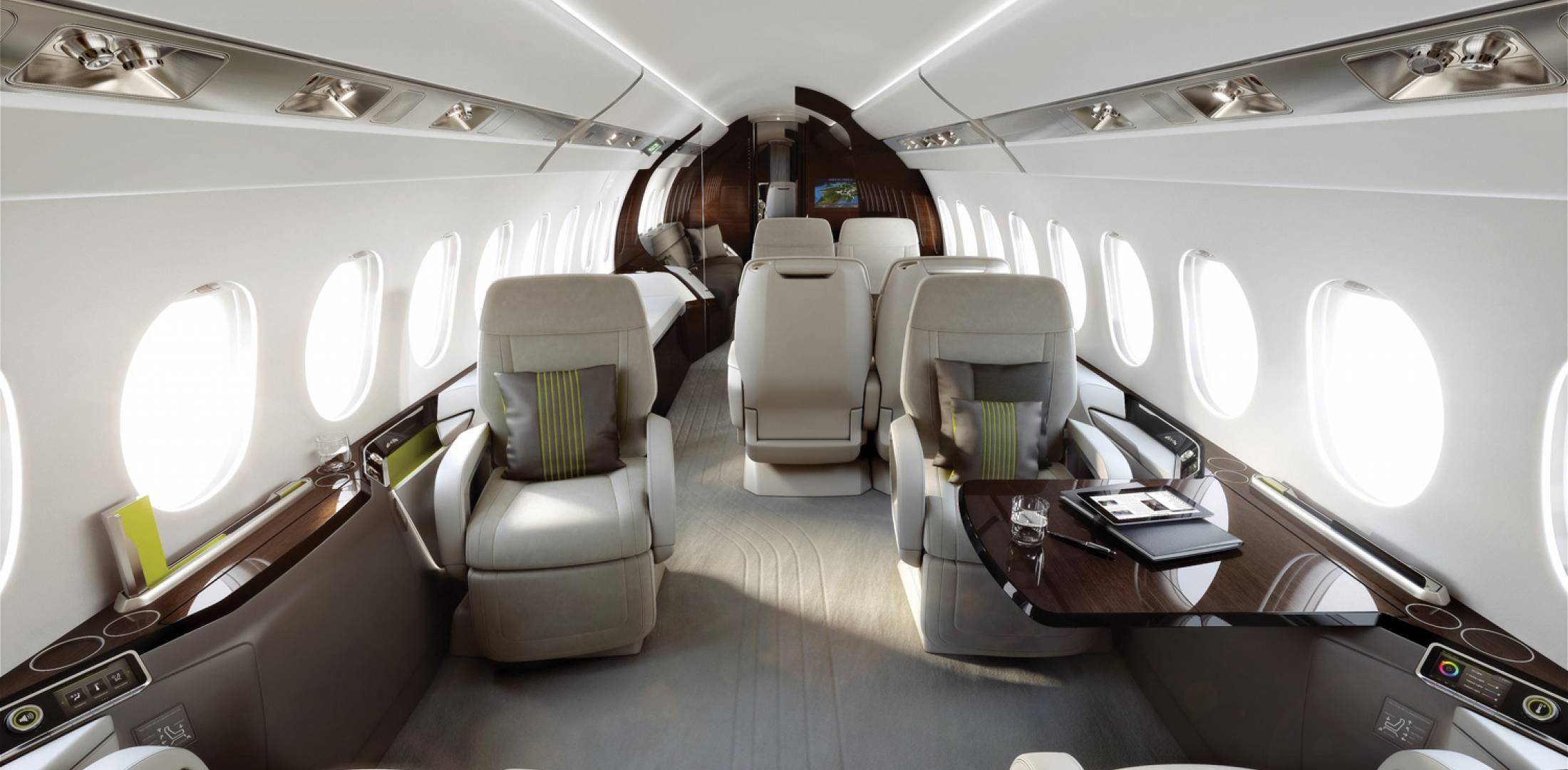 Most spacious cabin in its class business aviation news for Cabins 1770