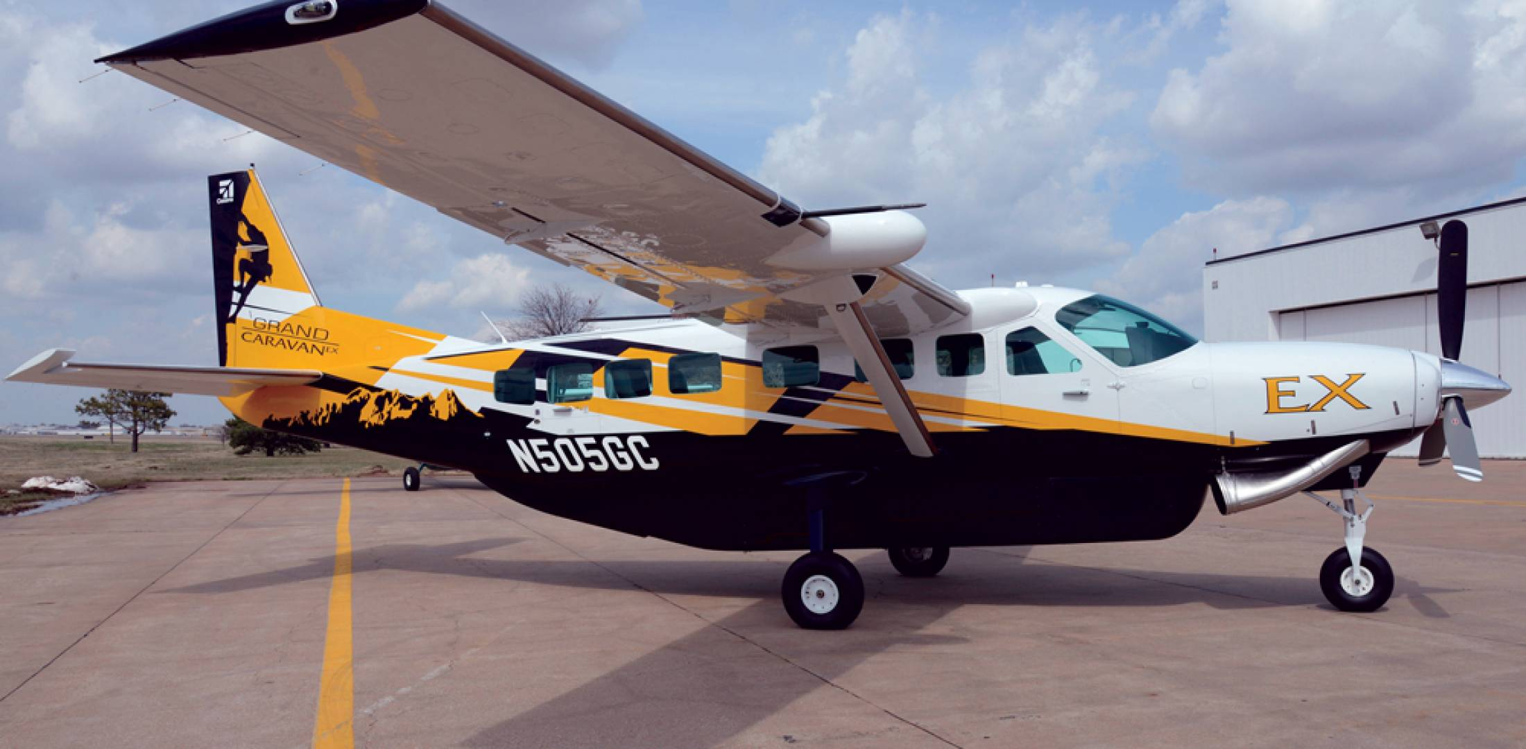 The $2.4 million Grand Caravan EX upgrades the venerable workhorse with an  867-shp PT6