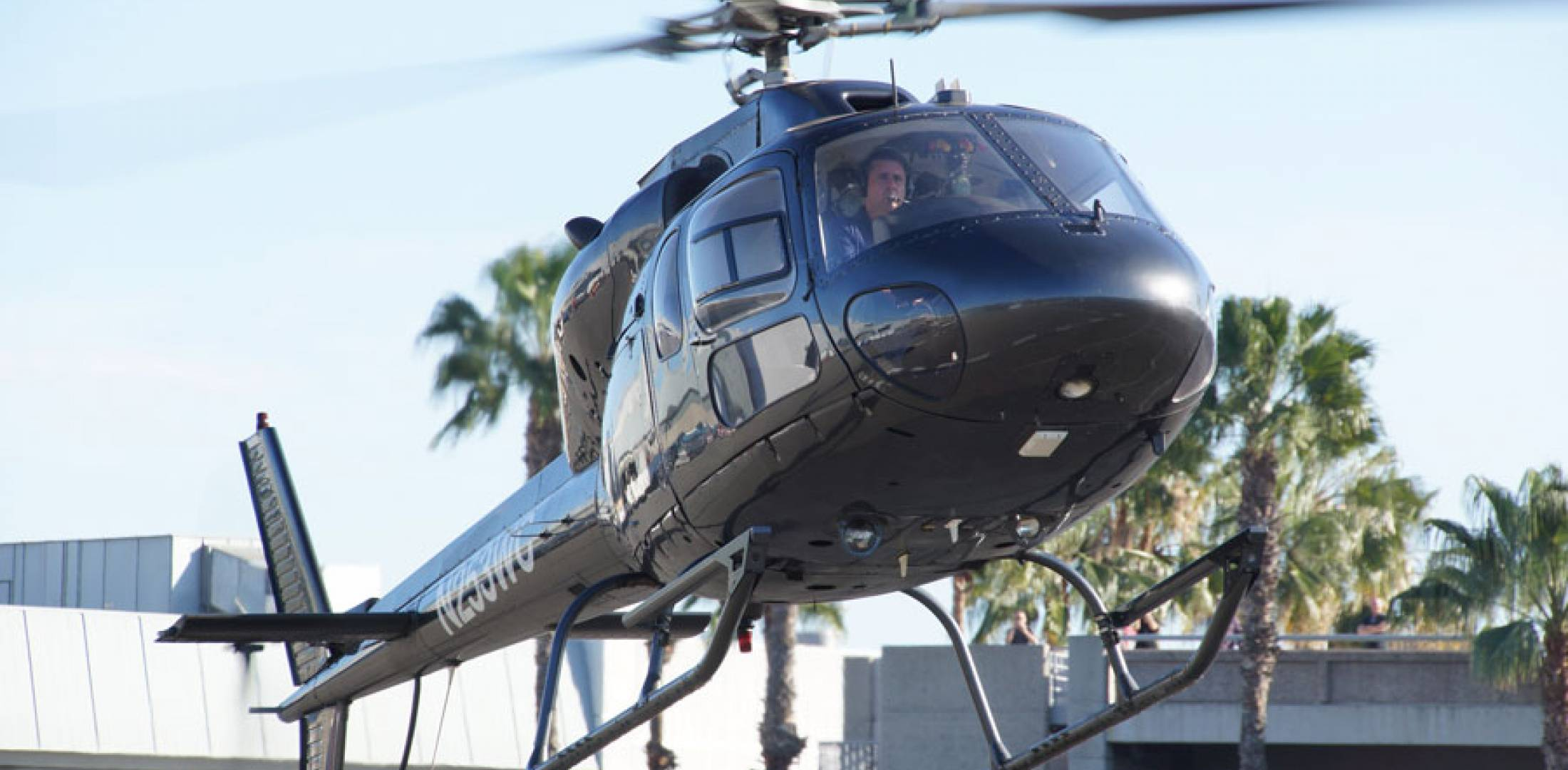 Airbus helicopter AS355F2