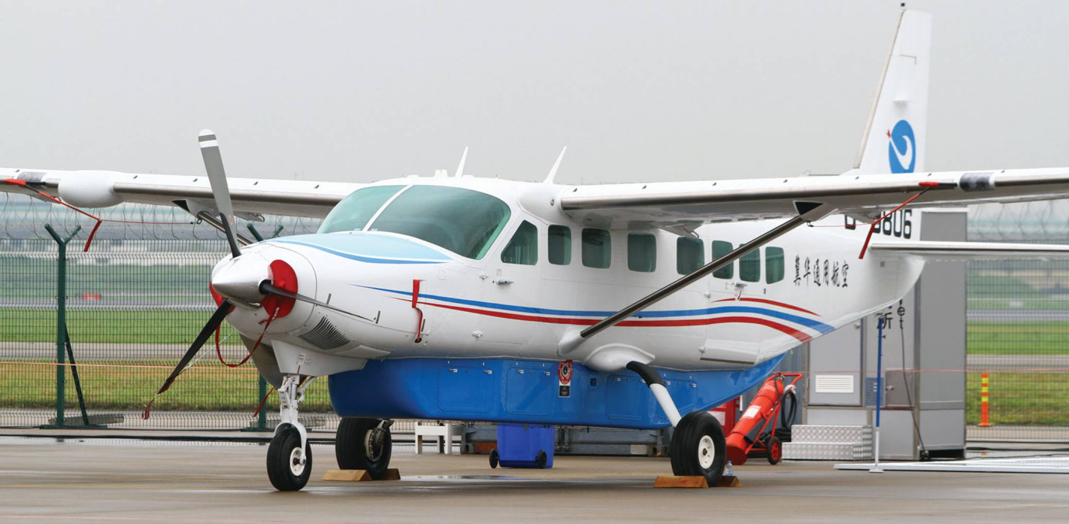 Beijing-based Reignwood Group has ordered 10 float-equipped Cessna Caravan  turboprop singles for tourism services.