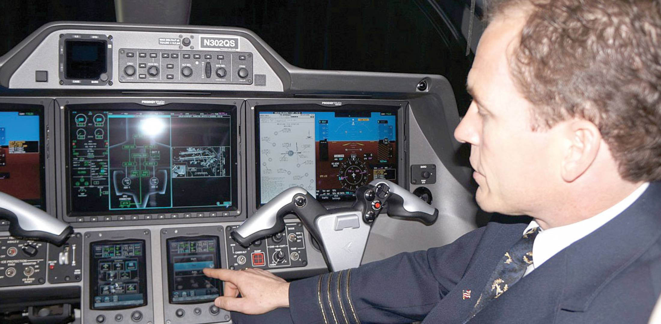 Prodigy Touch Upgrades Embraer Phenom 300 Cockpits | Business