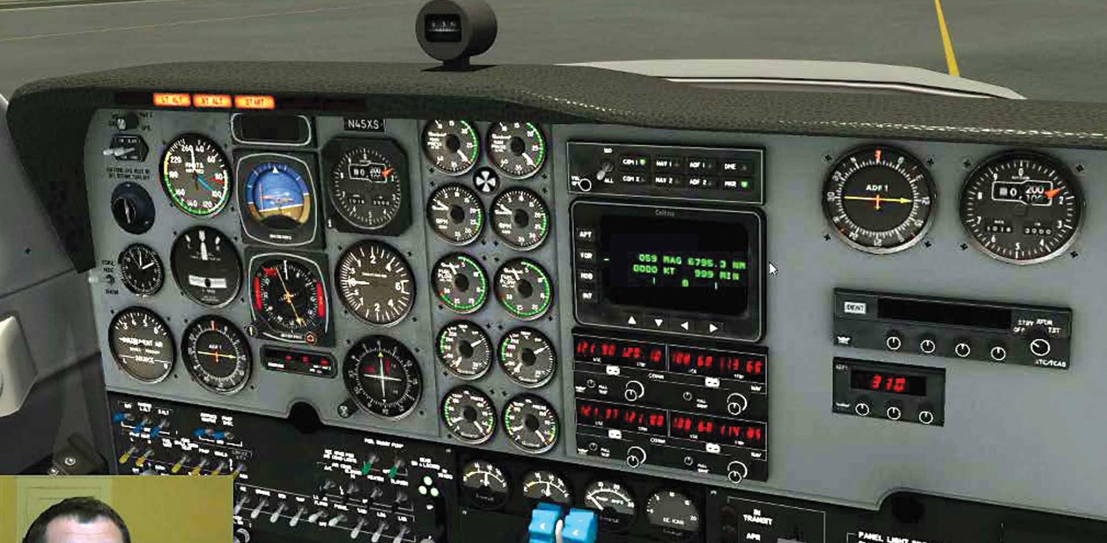 Shared Cockpit Allows Simulating Pilots To 'Fly' Together