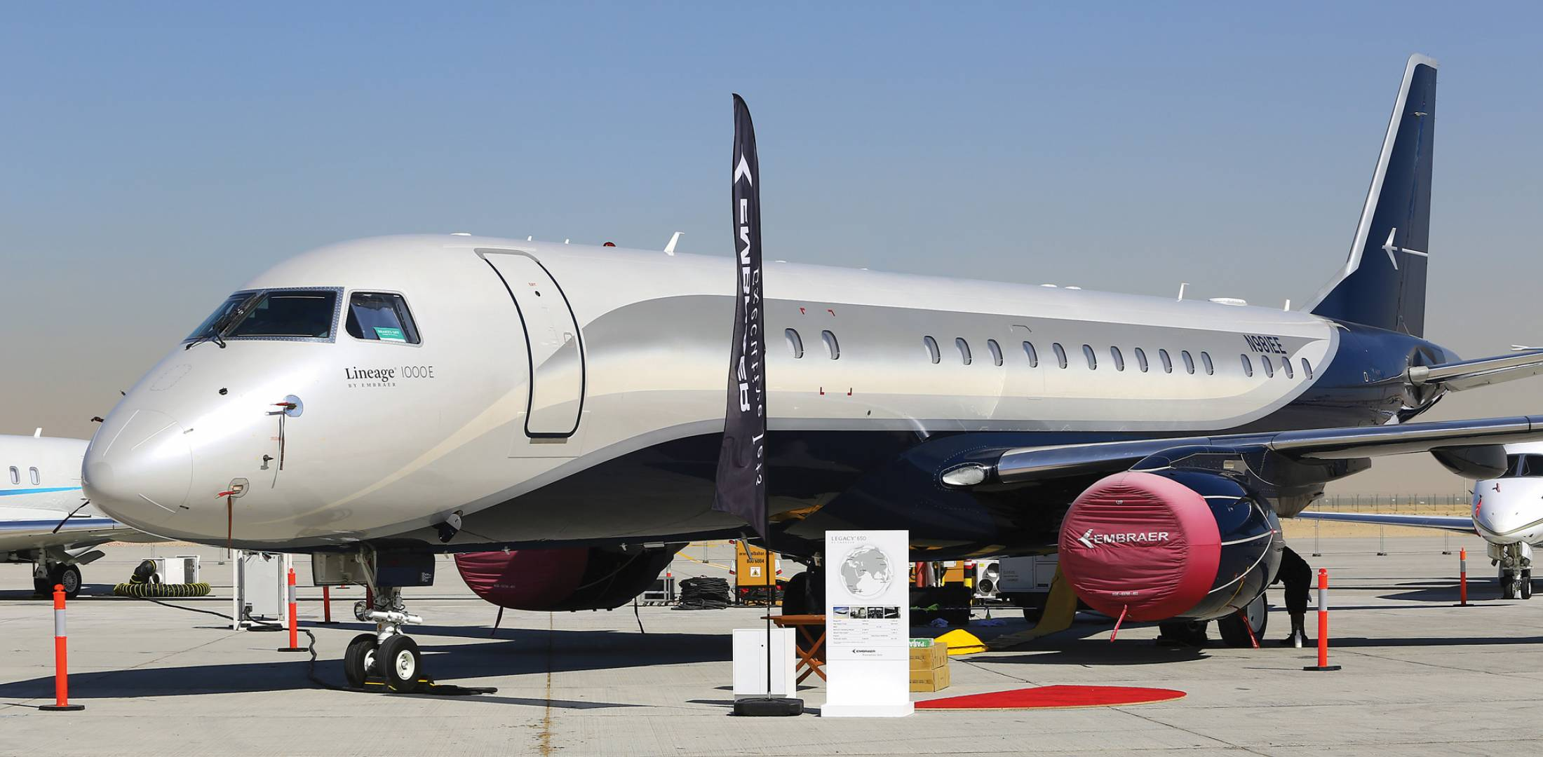 Embraer to deliver first legacy 500 in middle east for Large cabin business jets