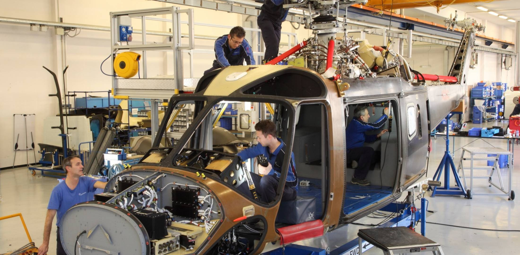 AW169 production