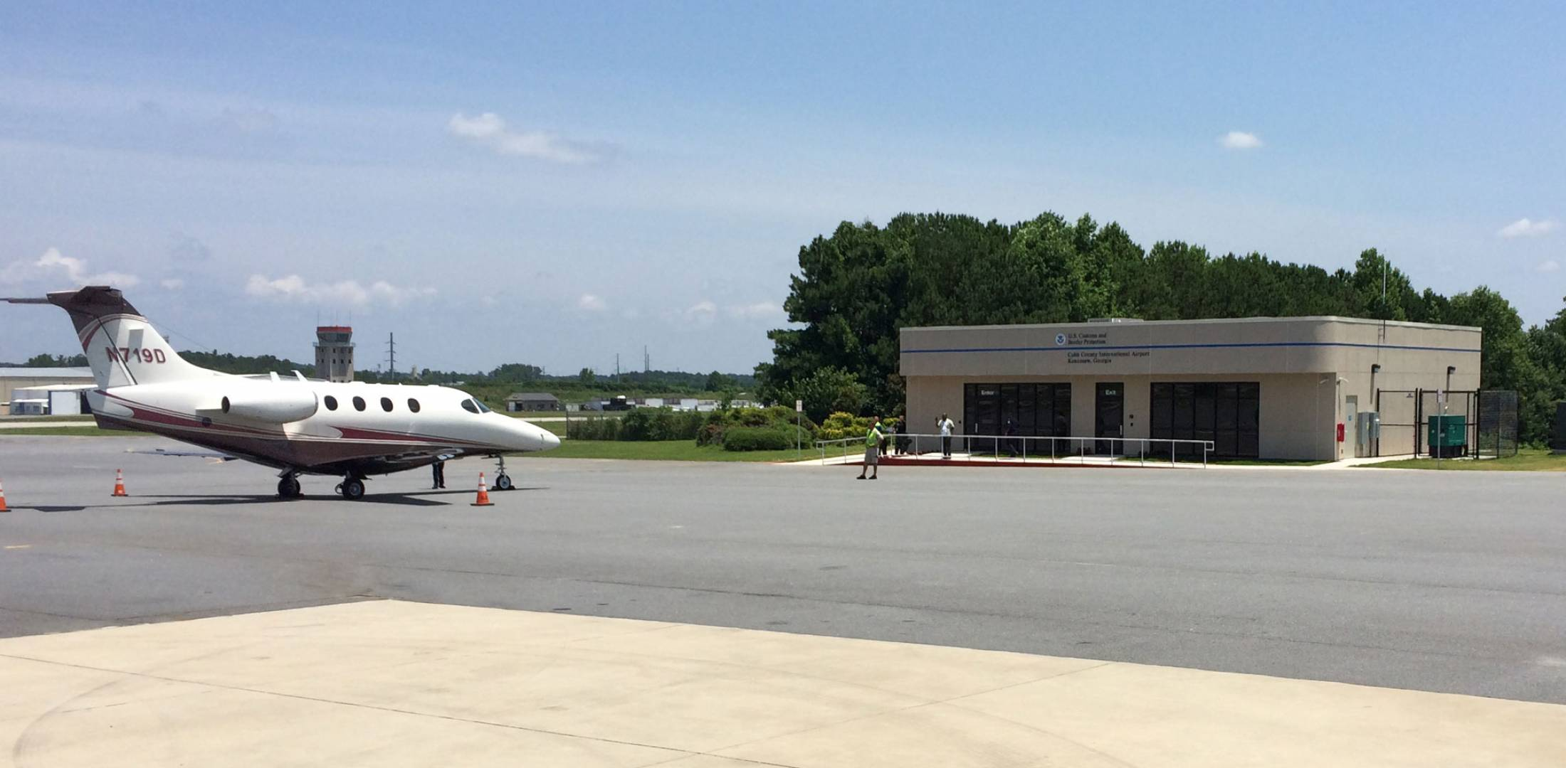 U.S. Customs at Cobb County Airport