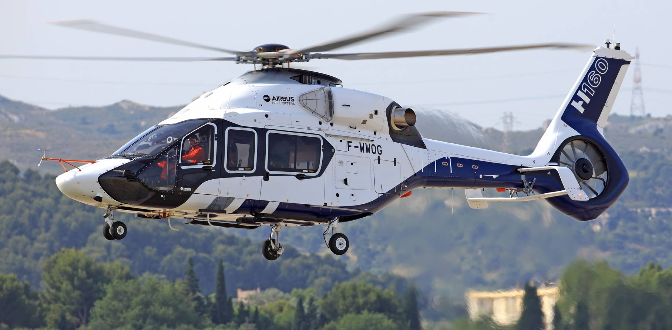 Airbus Helicopters H160 first flight