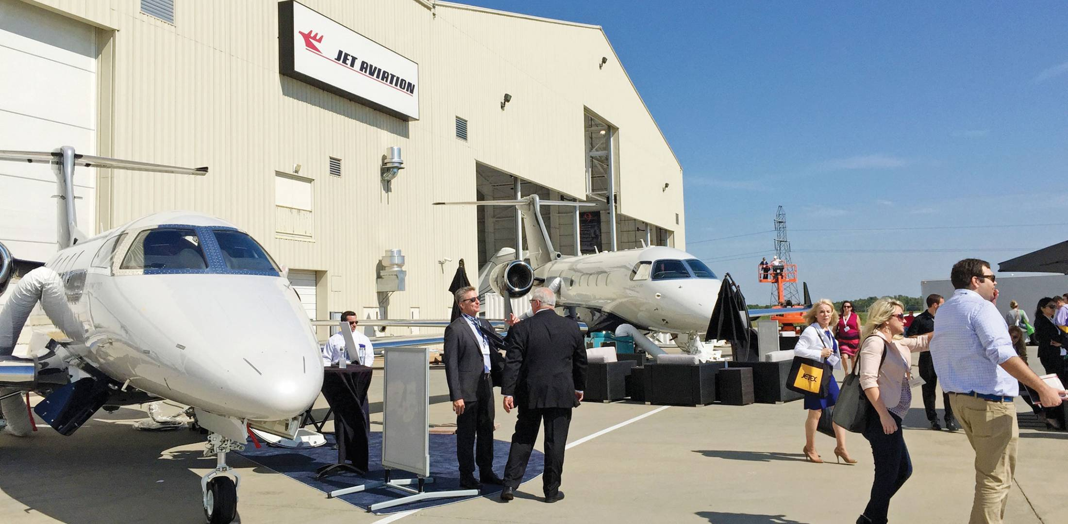Growth Continues At Jet Aviation St Louis Business News Aerospace Wire Harness Ties Hosted Its First Nbaa Regional Forum In September Held