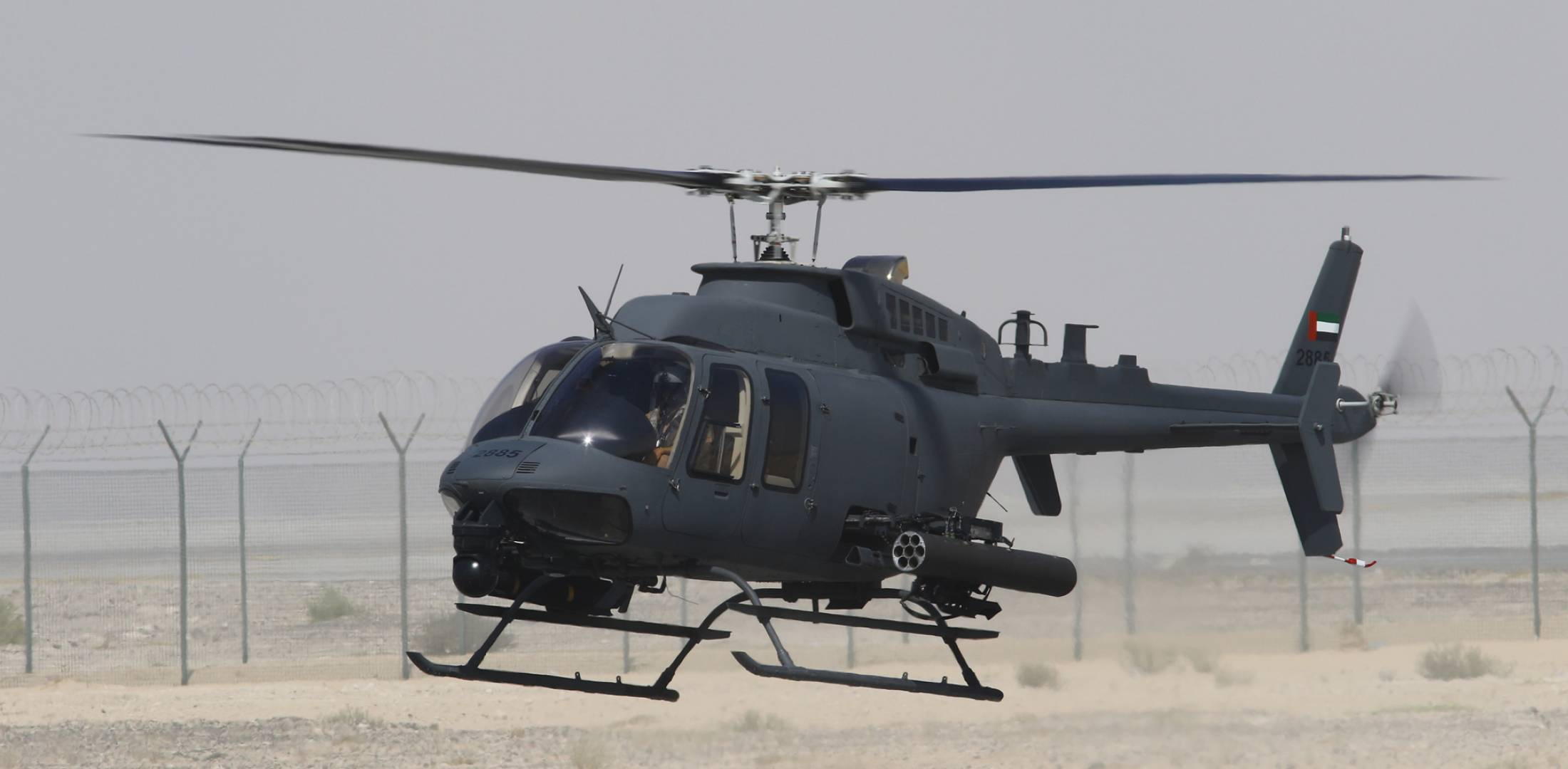 Northstar Displays Cost Effective Armed Helicopter