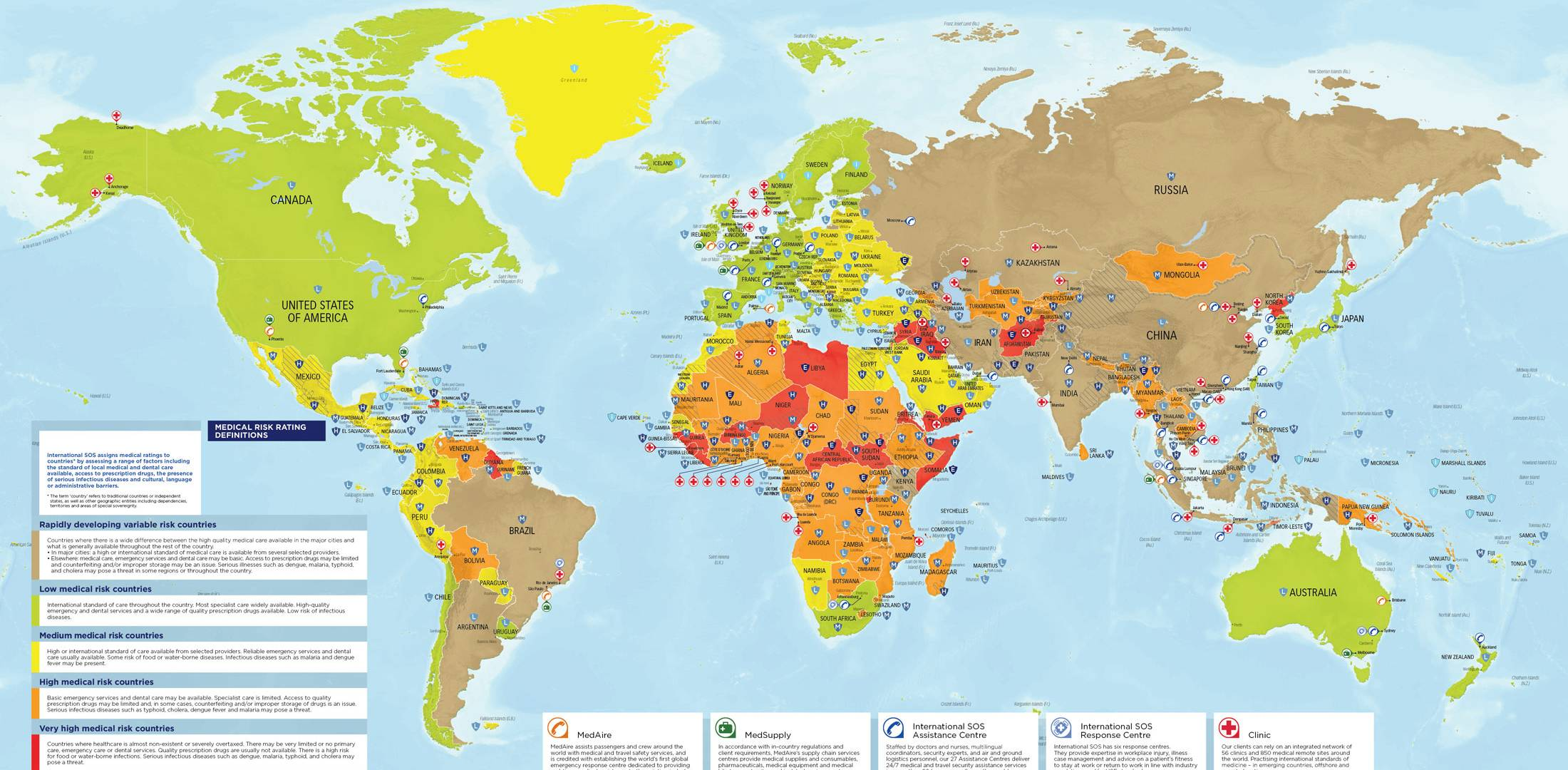 MedAire Upgrades Annual Global Map with Safety Concerns   Business