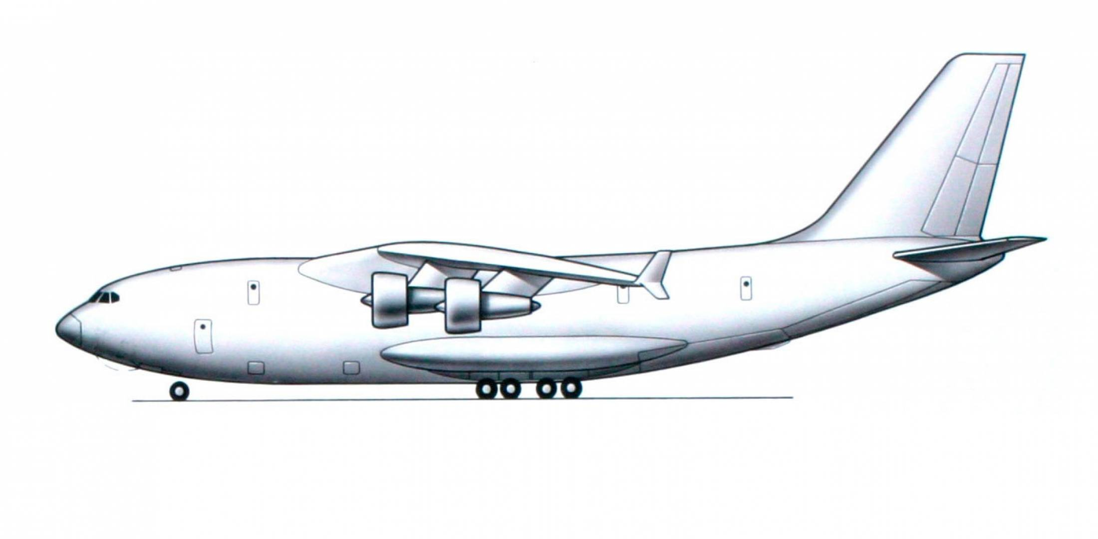 Il-106 drawing