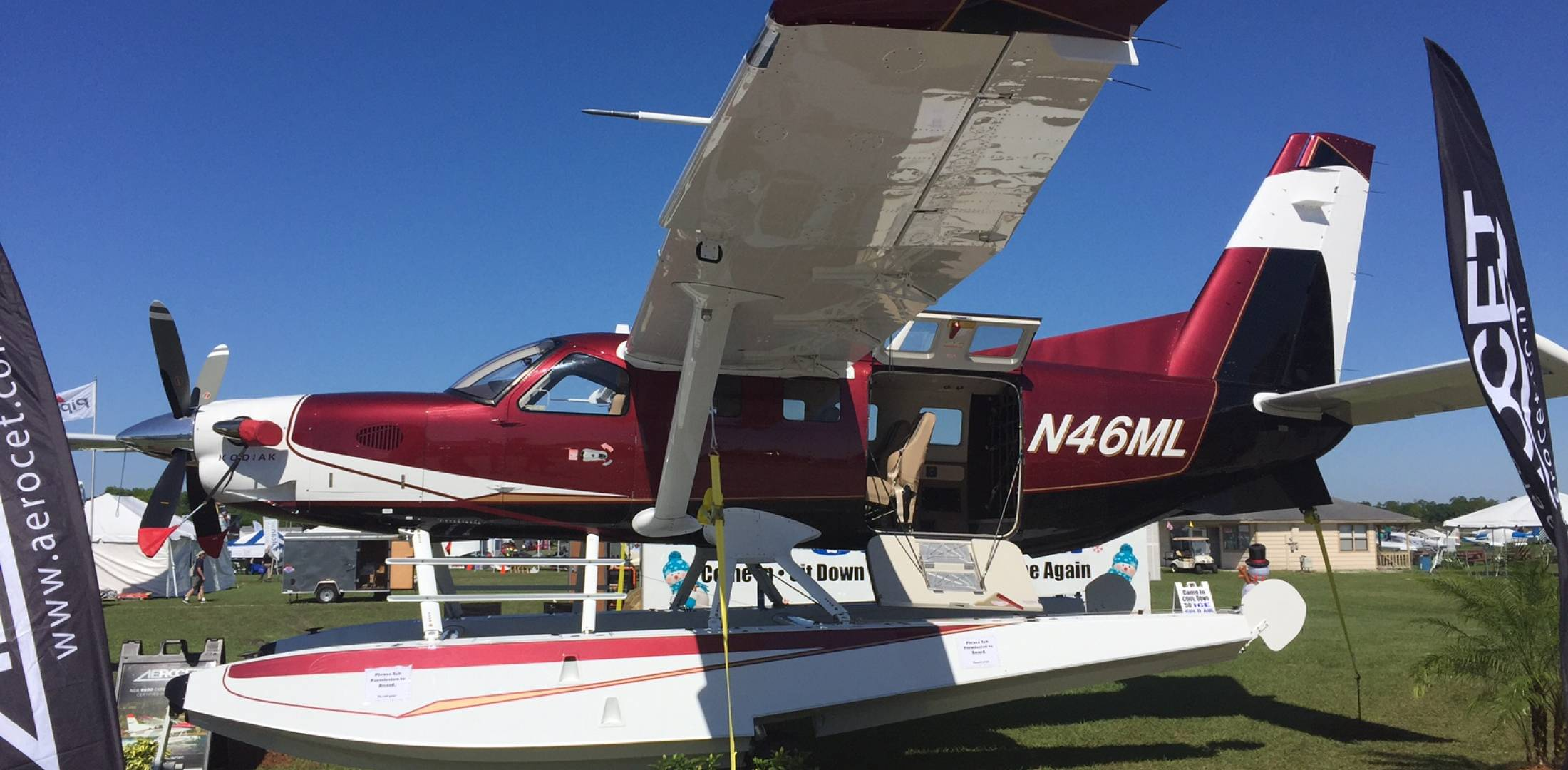 Quest Kodiak Okd In New Zealand As Company Looks To Future Cessna 172 Engineering Schematics The Avocet Floats Were Certified Last Year For Opening More Possibilities Turboprop Single Photo Chad Trautvetter Ain