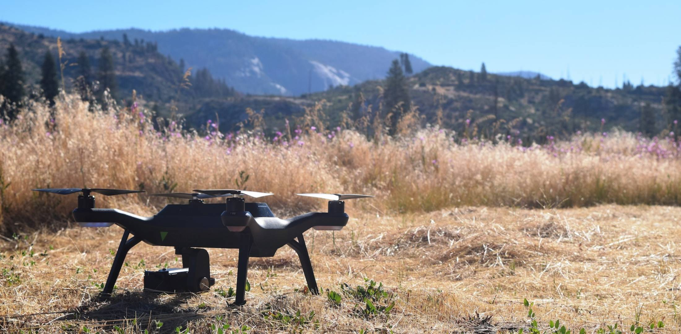 The 3D Robotics Solo Quadcopter Is Shown At Yosemite National Park In  California. (Photo Courtesy U.S. Department Of The Interior)