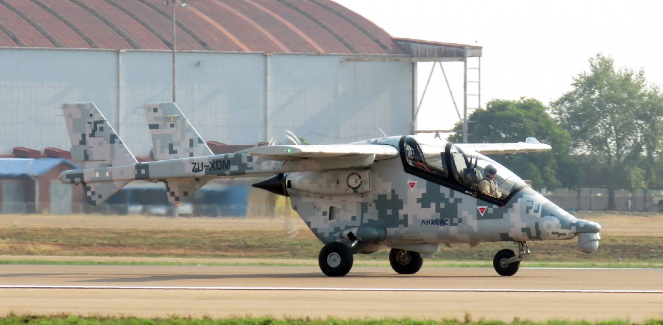South African AHRLAC taxiing