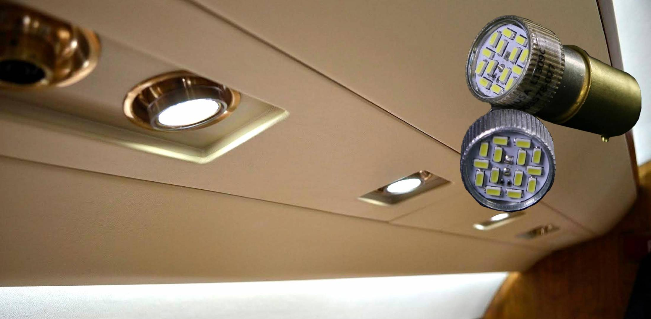 New Aircraft Lighting LEDs Replace Fluorescents | Business Aviation