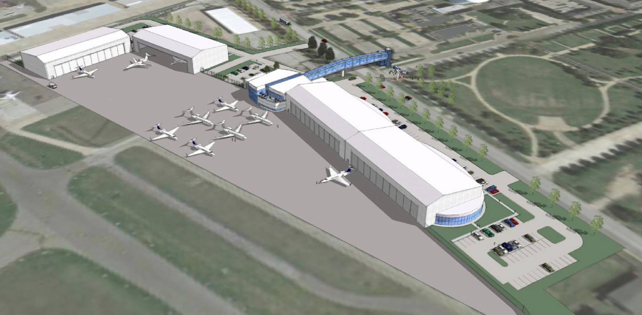 New FBO Complex Planned at Dallas-area Addison Airport