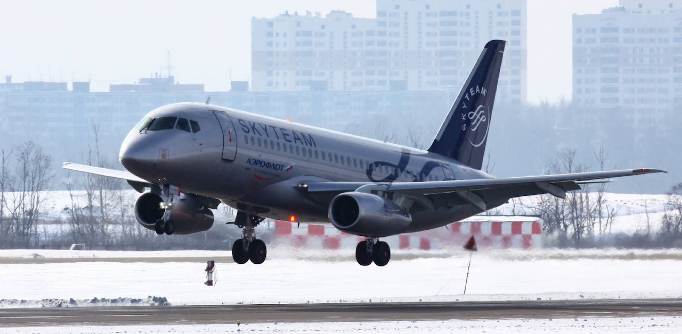 Problems with the operation of aircraft SSJ100 in the airline Yakutia 33
