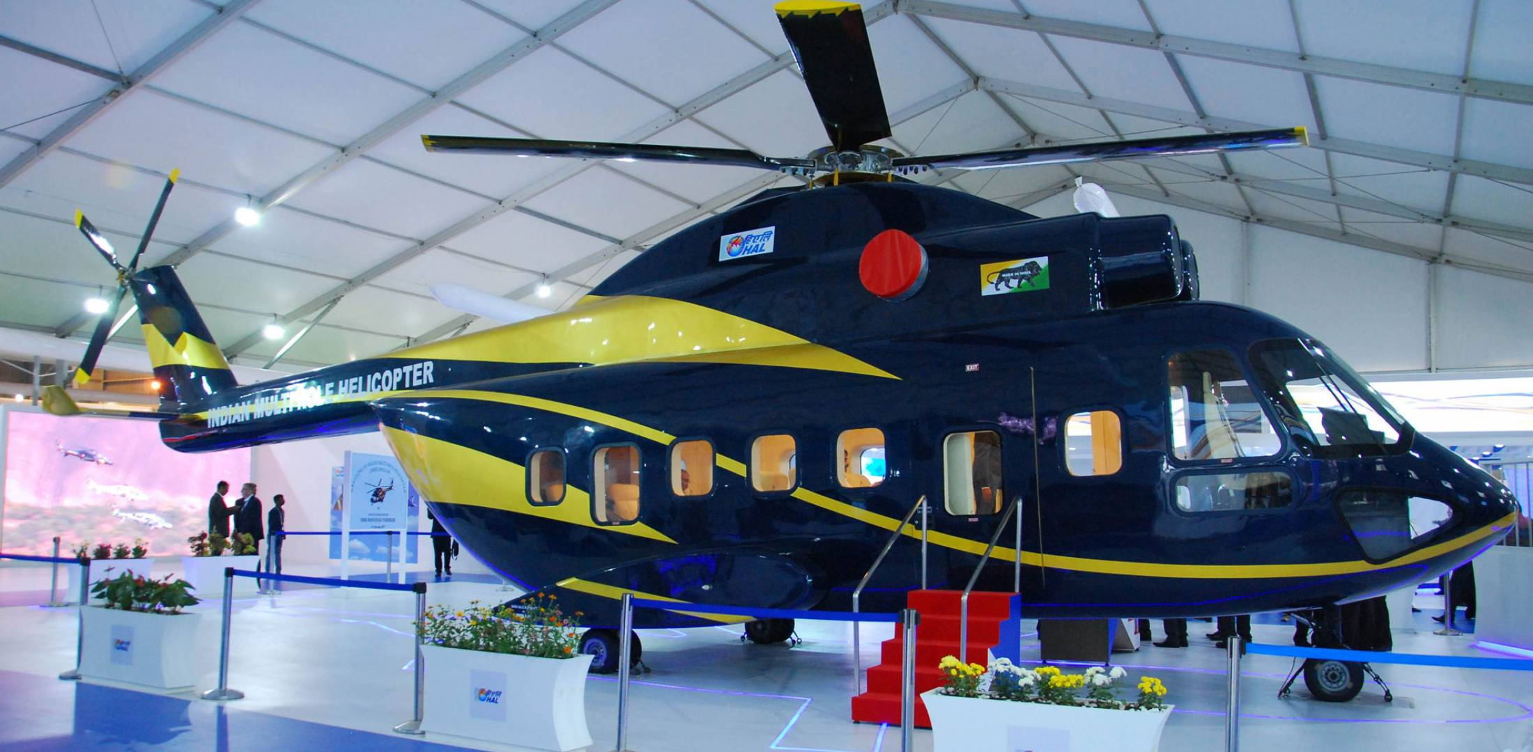 Indian multirole helicopter on display