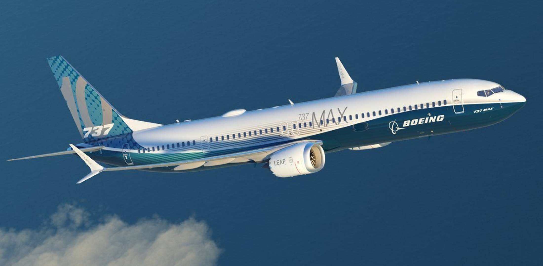 Boeing released this image of the proposed new 737 Max 10 narrowbody  airliner at the ISTAT Americas conference this week.