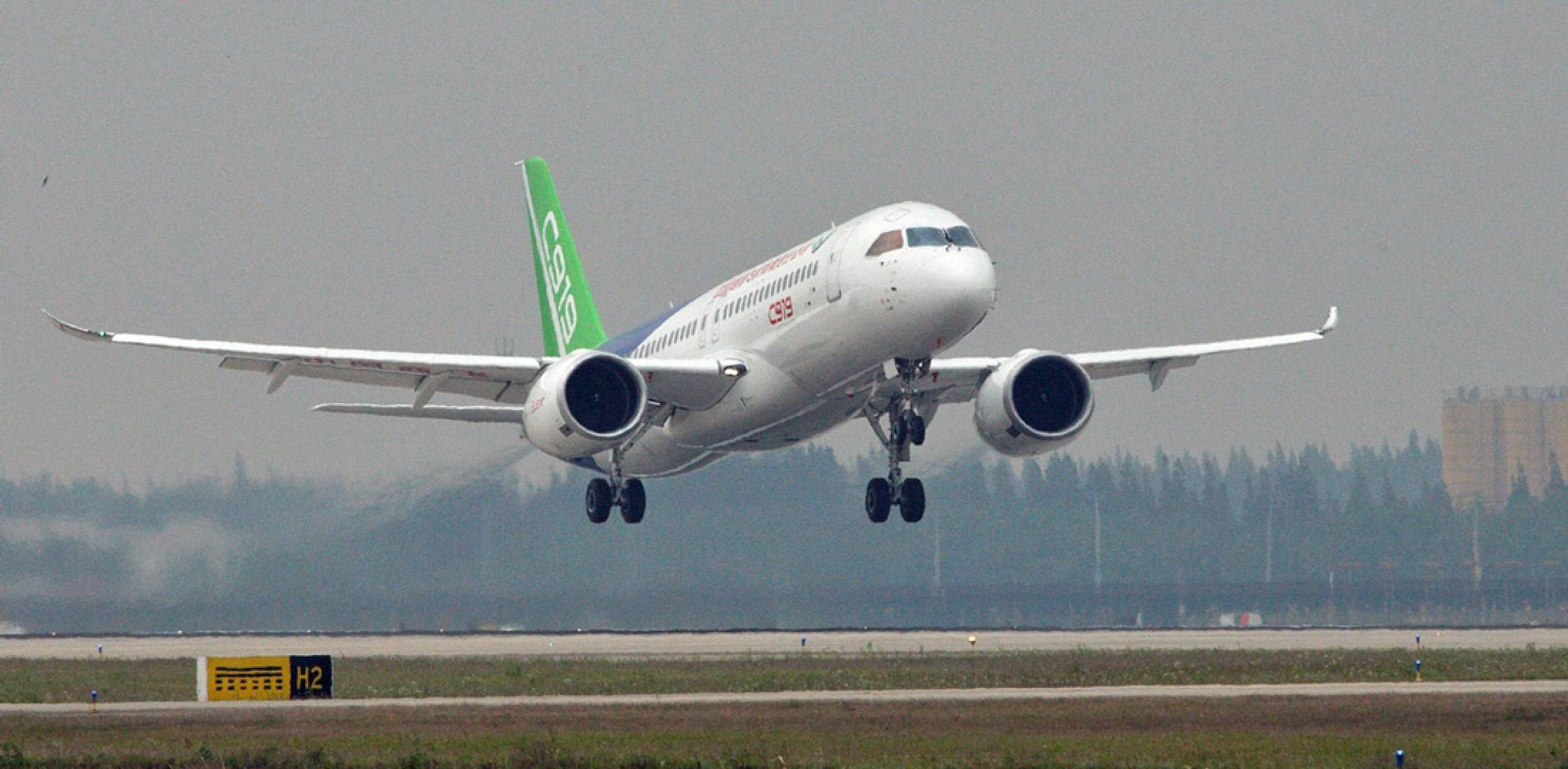 Image result for comac c919 flight test FAA