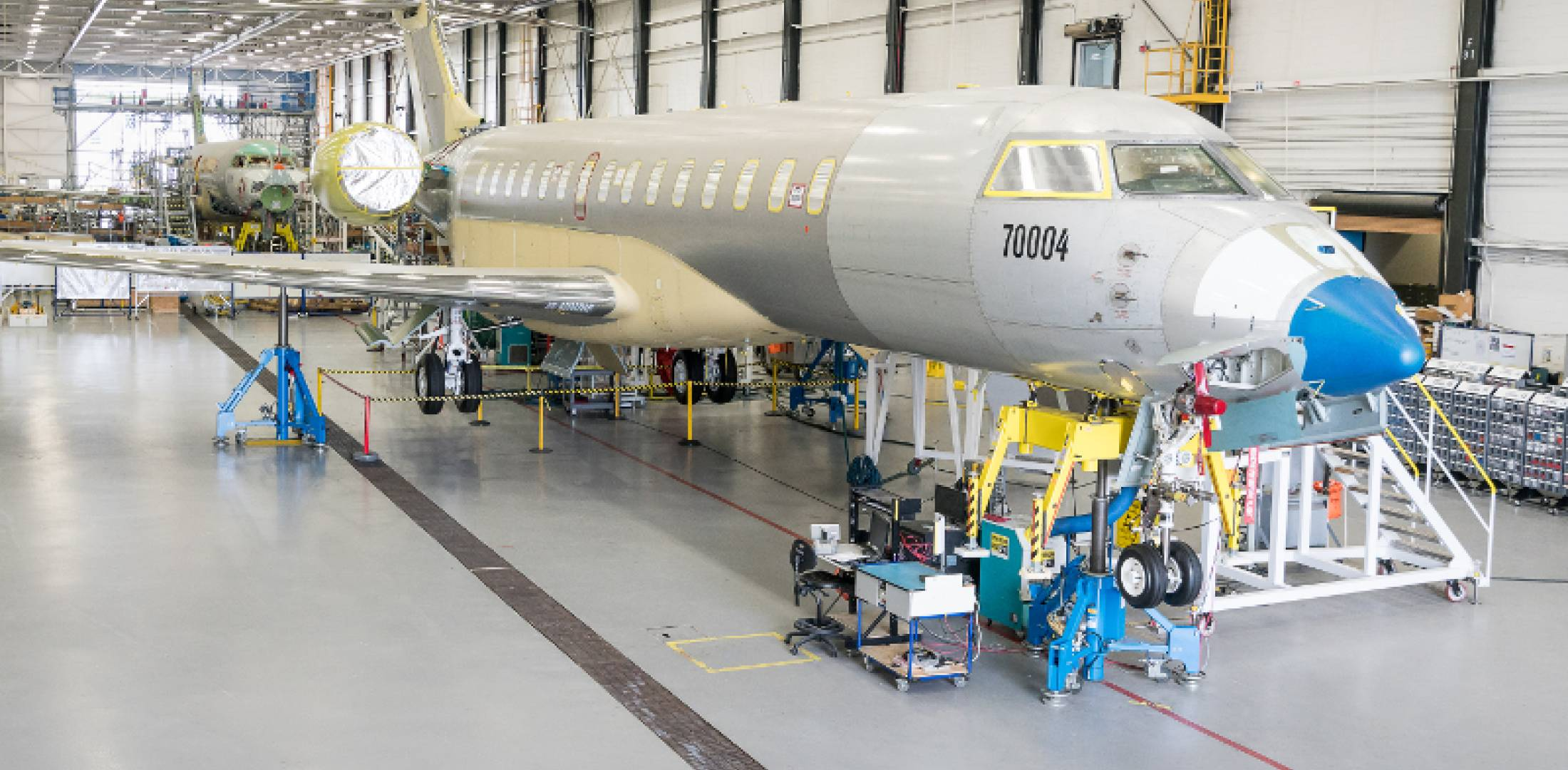 Bombardier Global 7000 FTV4 and FTV5