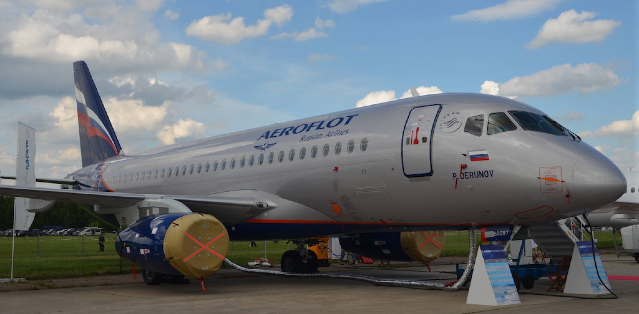 Problems with the operation of aircraft SSJ100 in the airline Yakutia 43