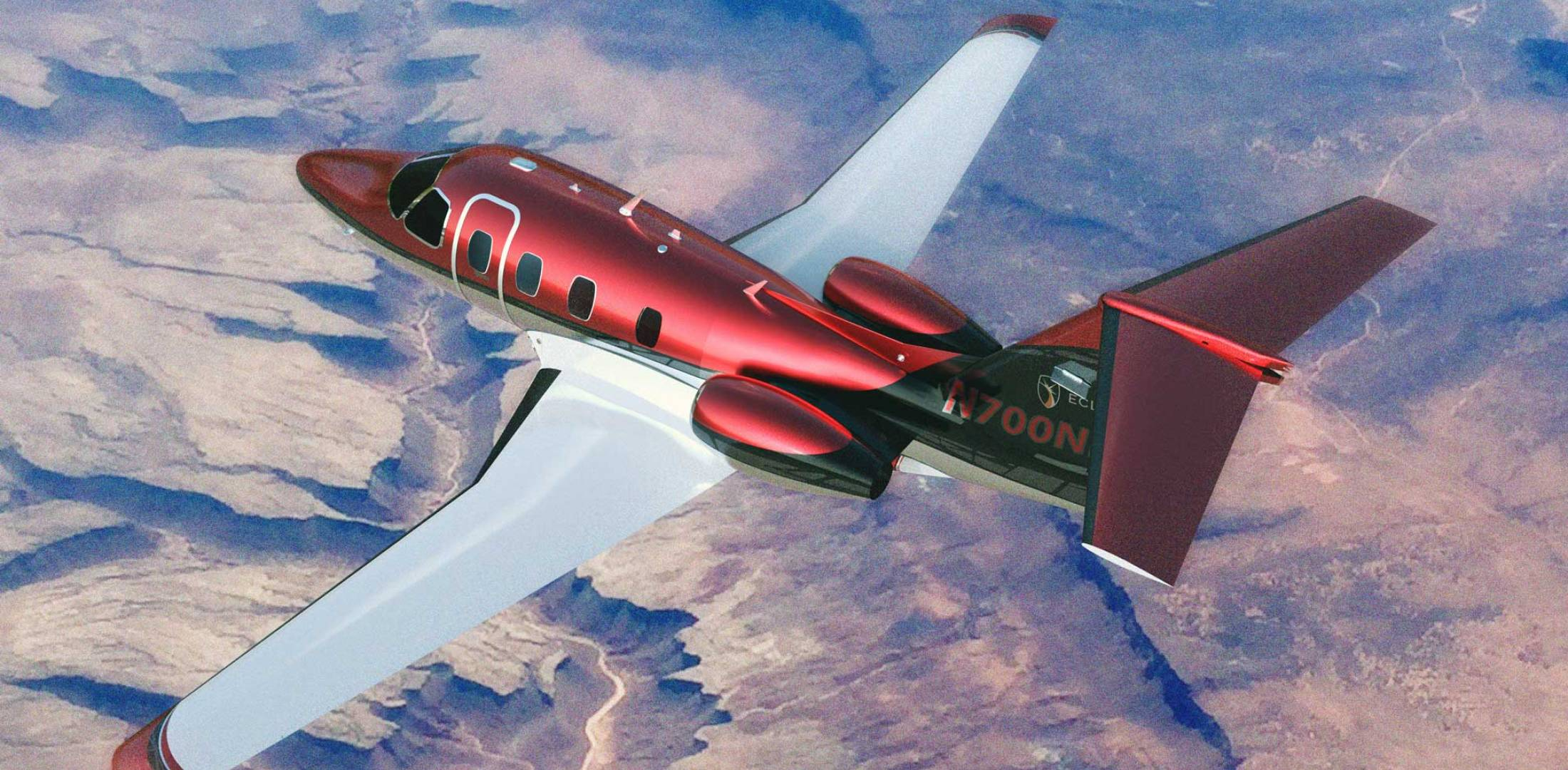 """One Aviation's """"Project Canada"""" Is Now Eclipse 700 ... Eclipse Jet"""
