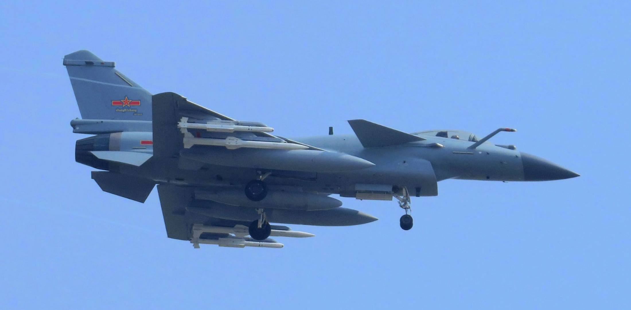 New Chinese Weapons Seen On J-10C Fighter | Defense News ...
