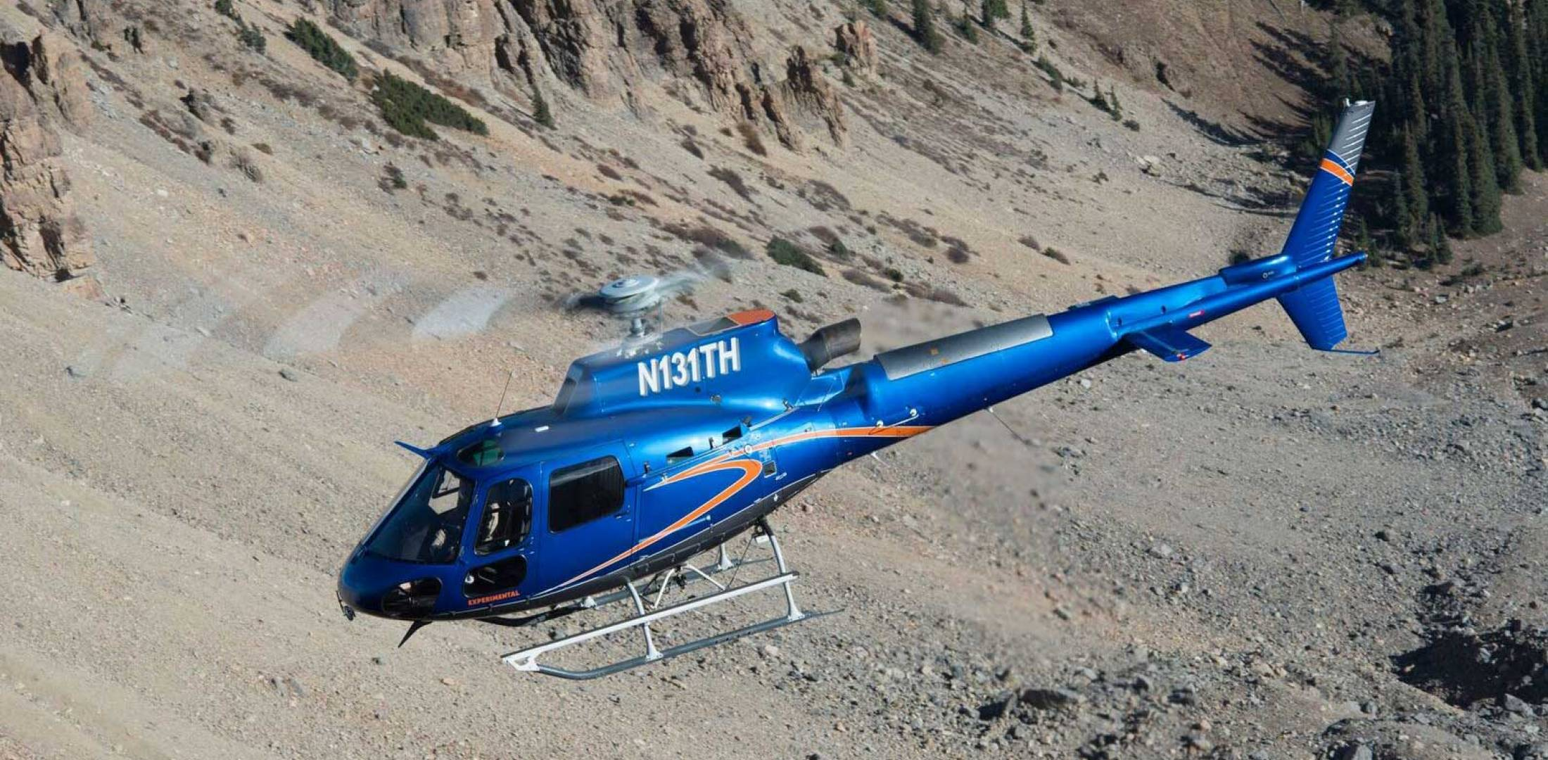 BLR Aerospace's FastFin as installed on the H125