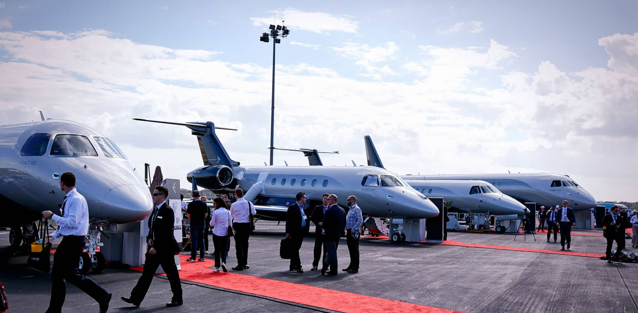 Embraer product line-up